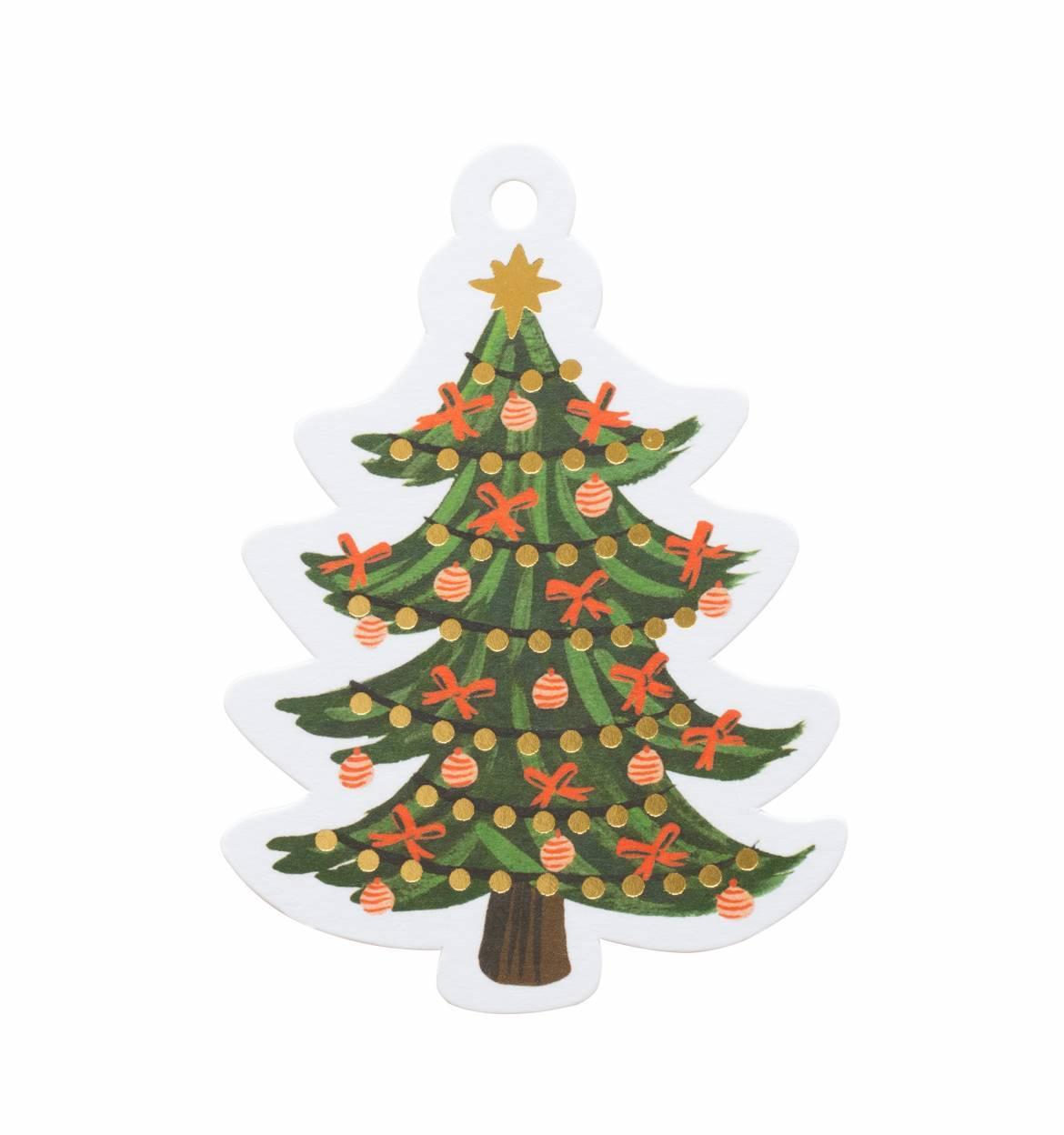 RIFLE - Christmas tree gift tags