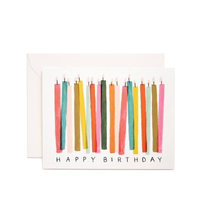 RIFLE - Kort, Birthday Candle