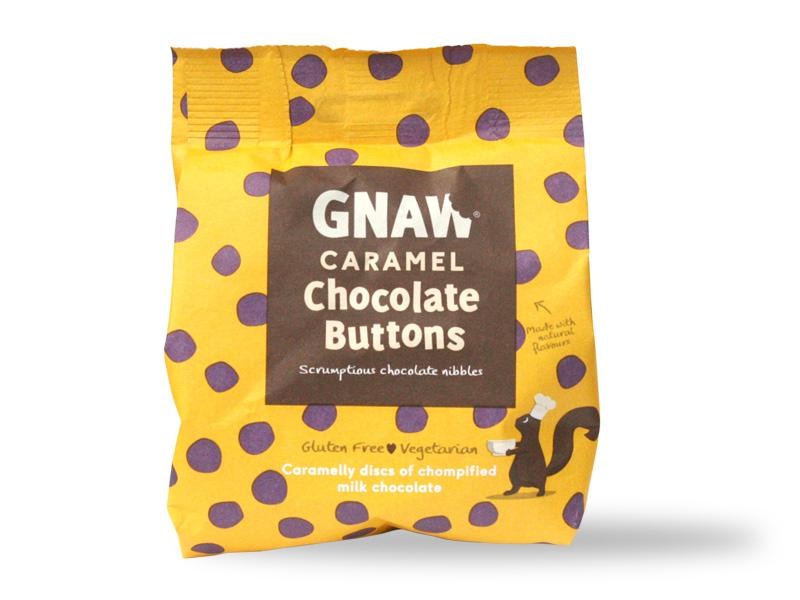 Gnaw - Caramel Choc Buttons