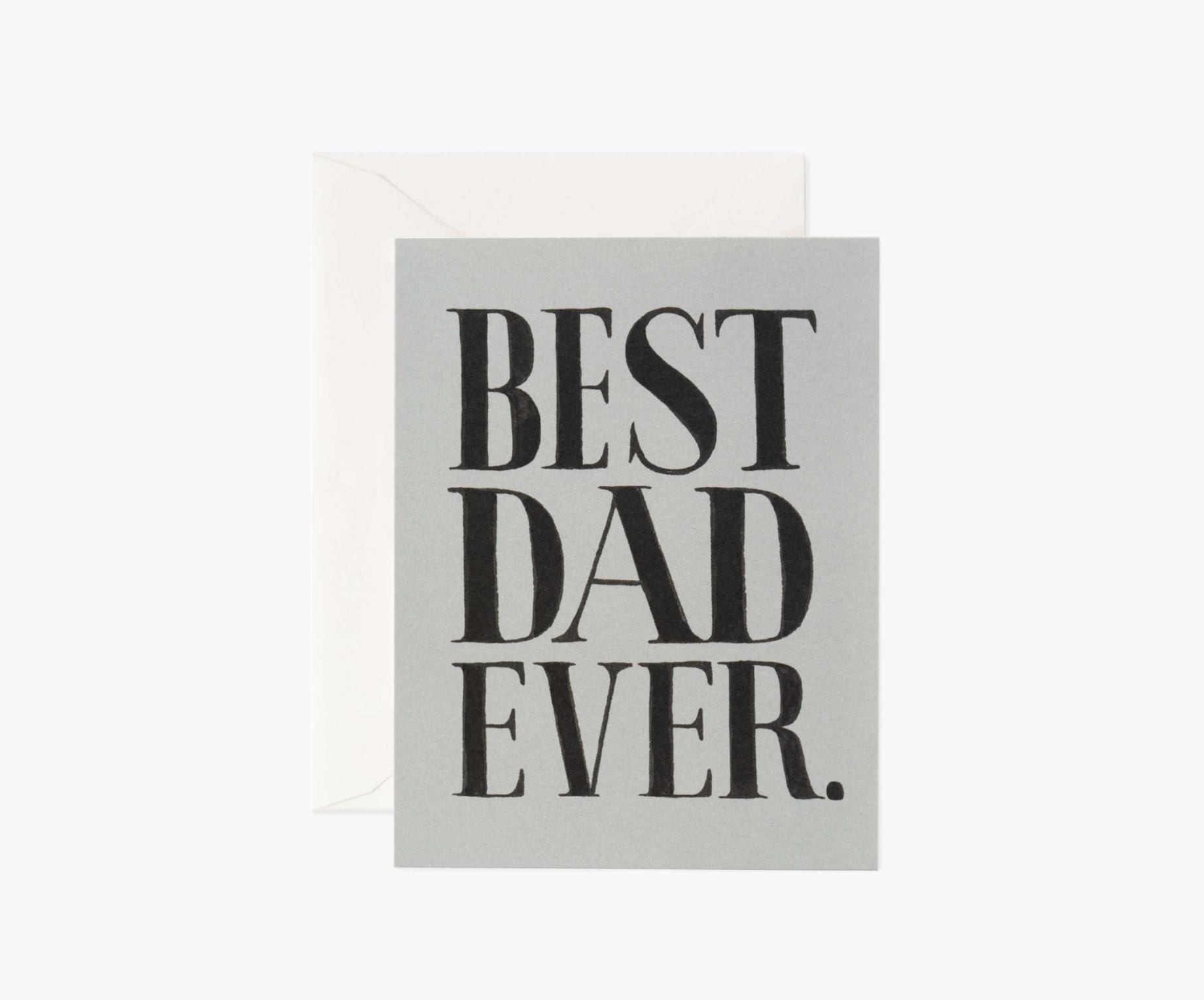 RIFLE - Kort, Best Dad Ever