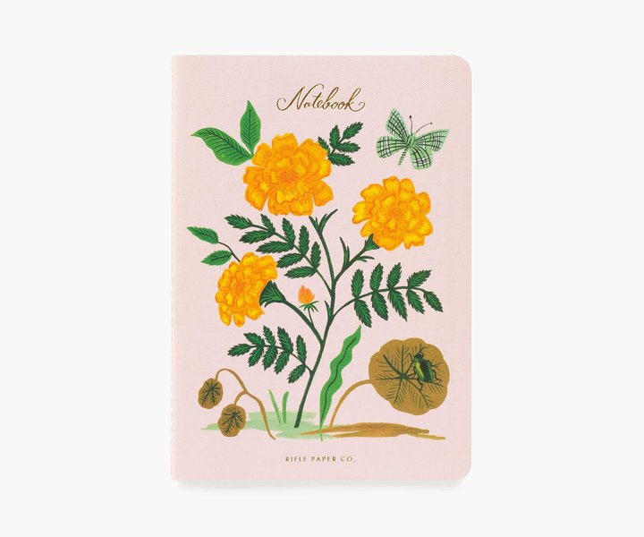 RIFLE - Botanical Notebook, Yellow