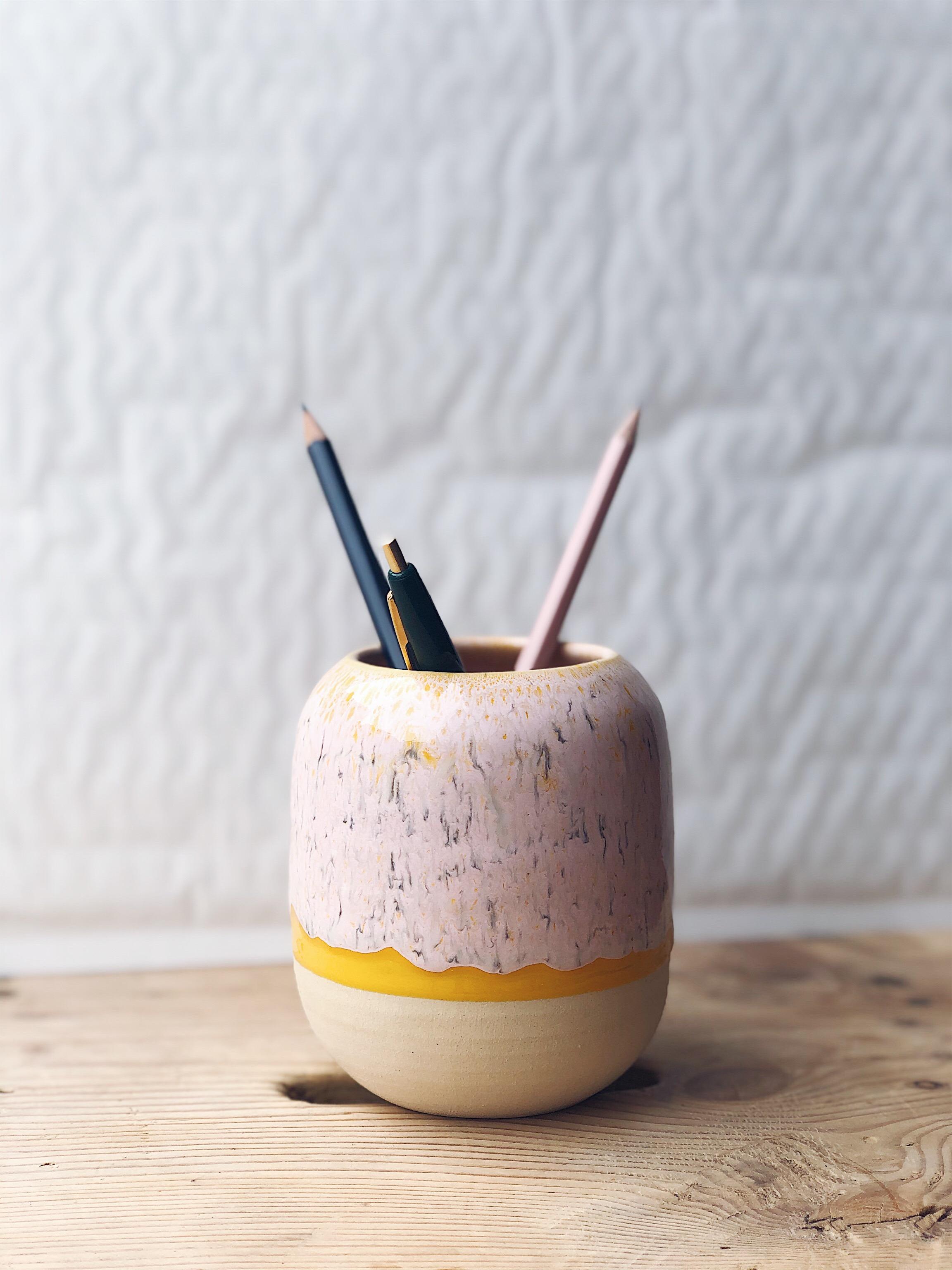 STUDIO ARHØJ - Pen Cup, Dahlia Pink