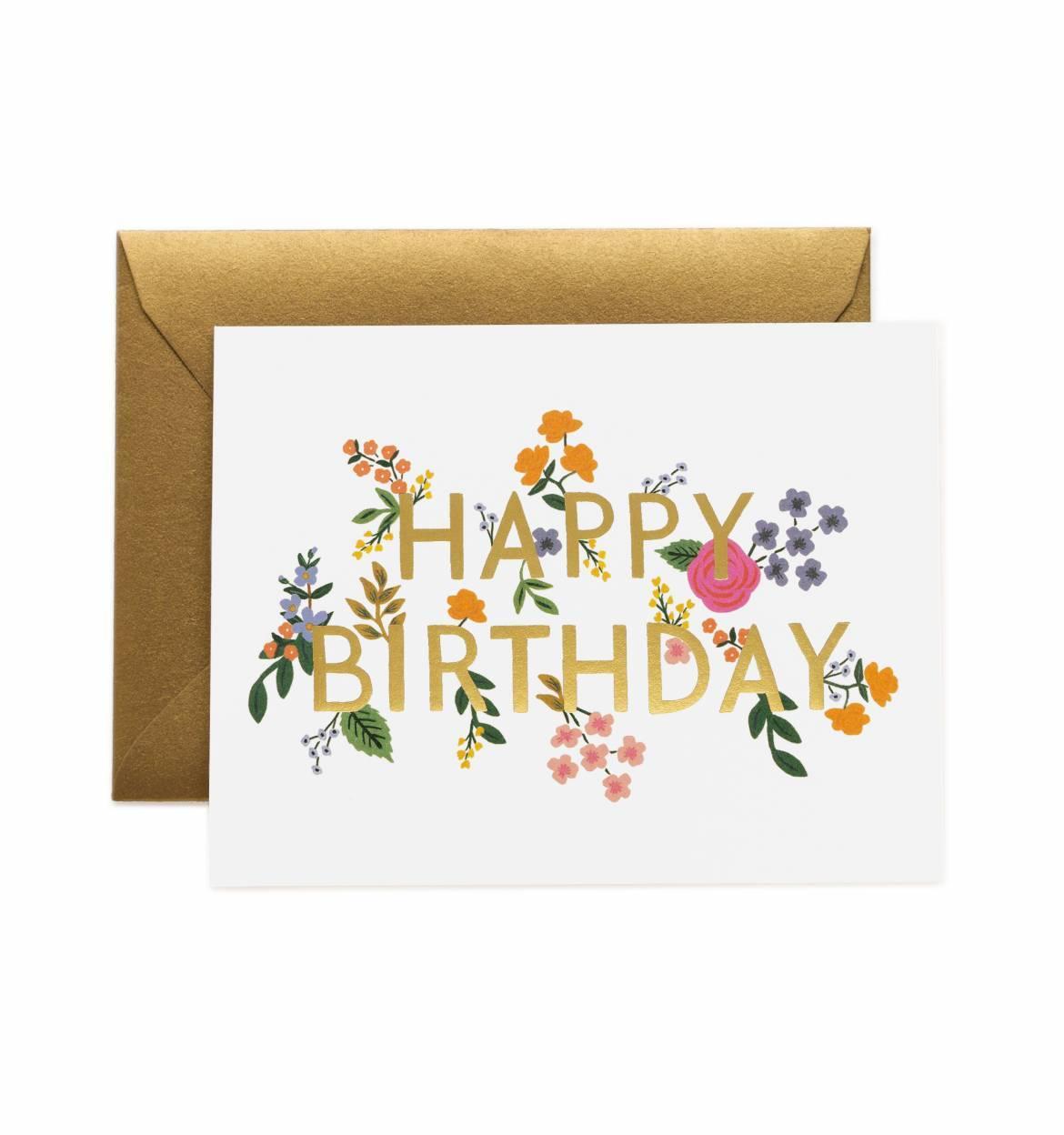 RIFLE - Kort, Wildwood birthday