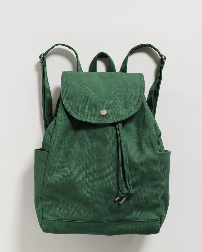 BAGGU - Drawstring Backpack, Eucalyptus