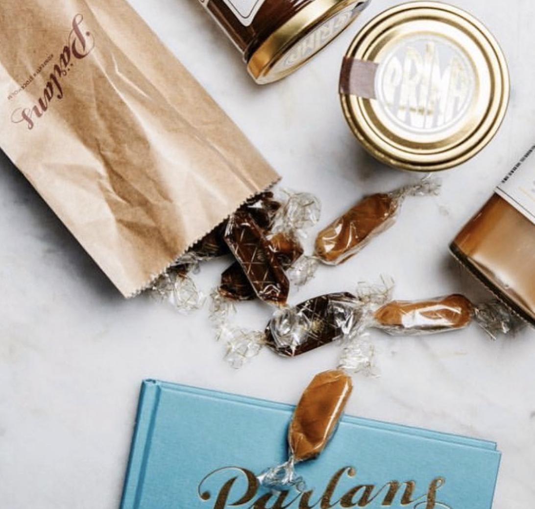 Pärlans - Enkeltkaramell, mjølkesjokolade
