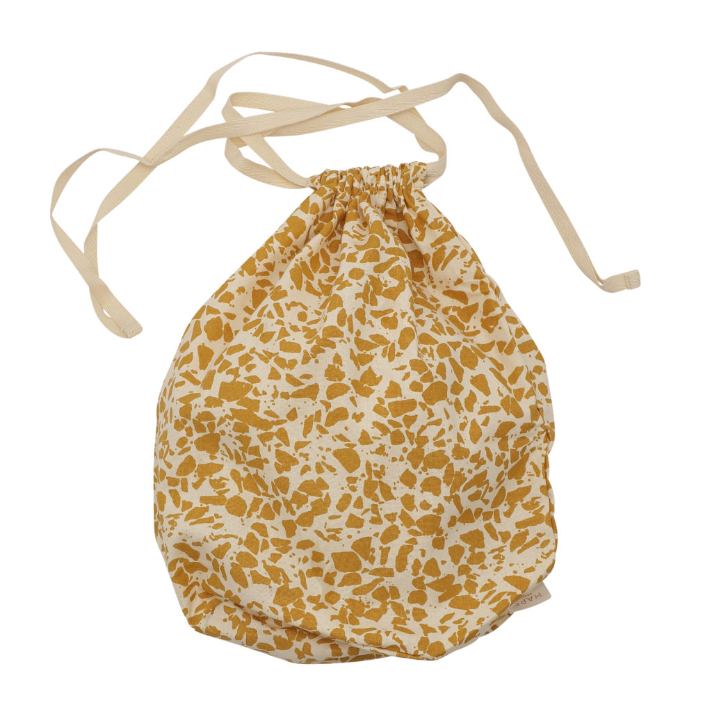 HAPS - Multibag stor, Terrazzo Mustard