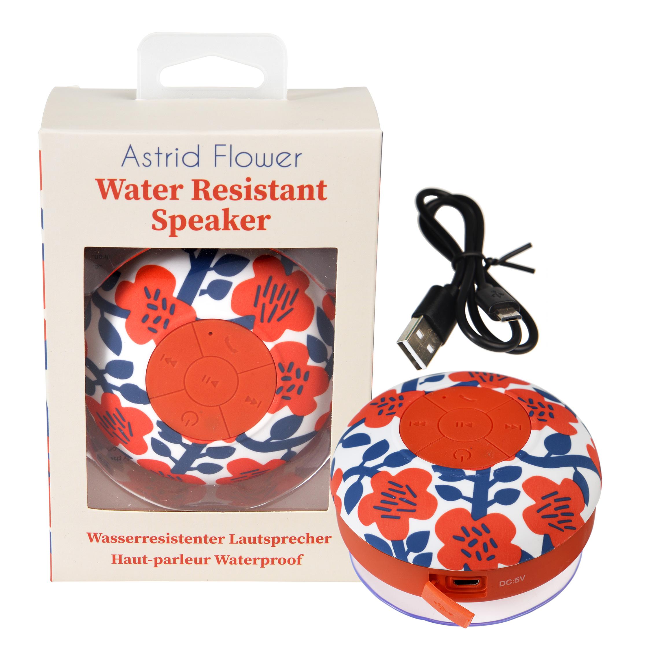 ASTRID FLOWER BLUETOOTH SHOWER SPEAKER