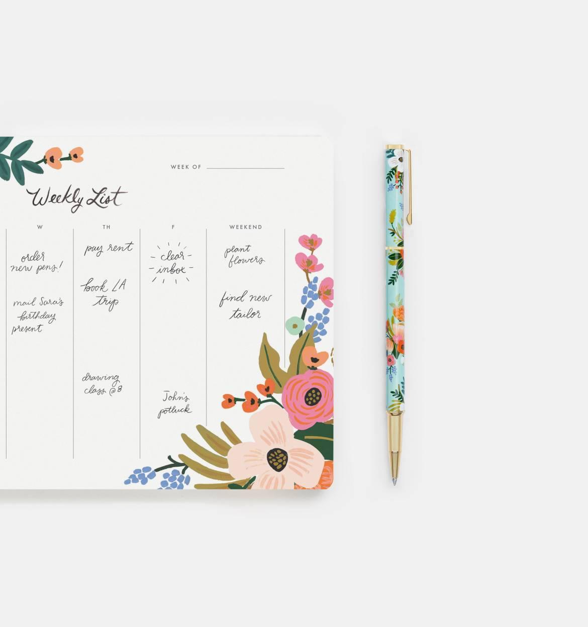 RIFLE - Lively Floral Pen