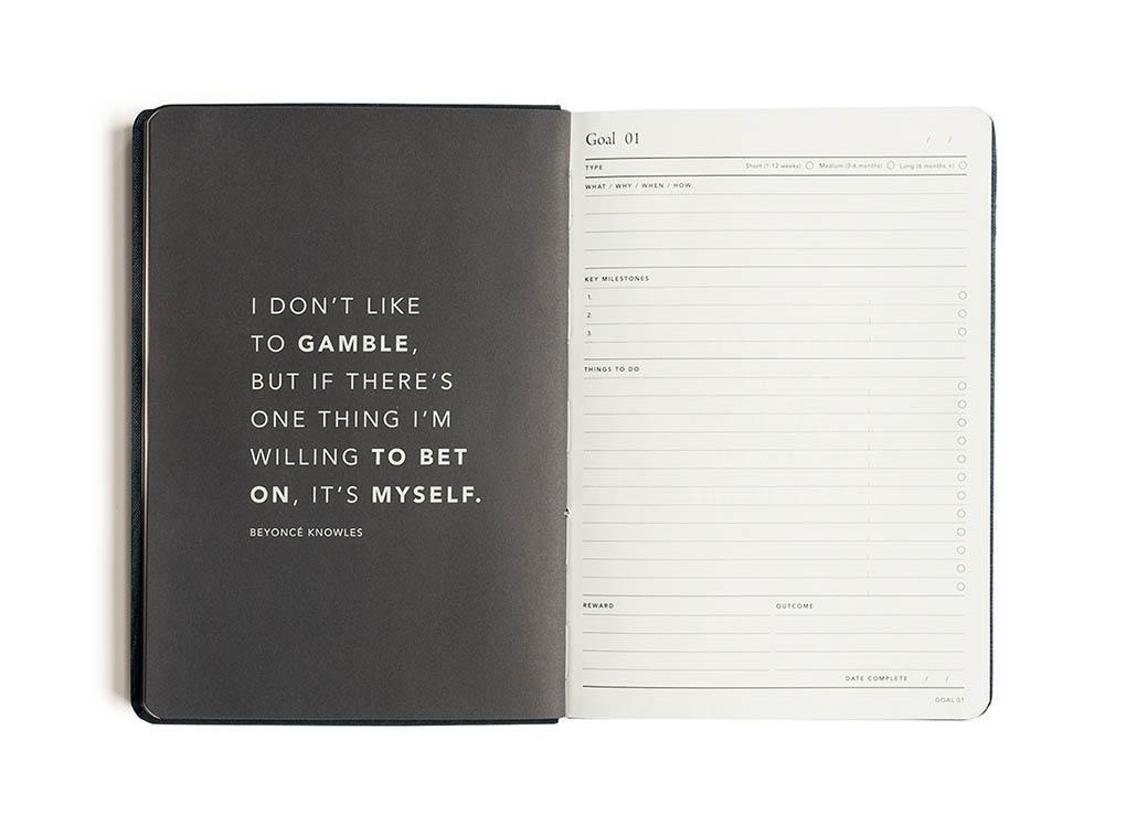 MIGOALS PRE ORDER - 2021 WEEKLY NOTES GOALS DIARY