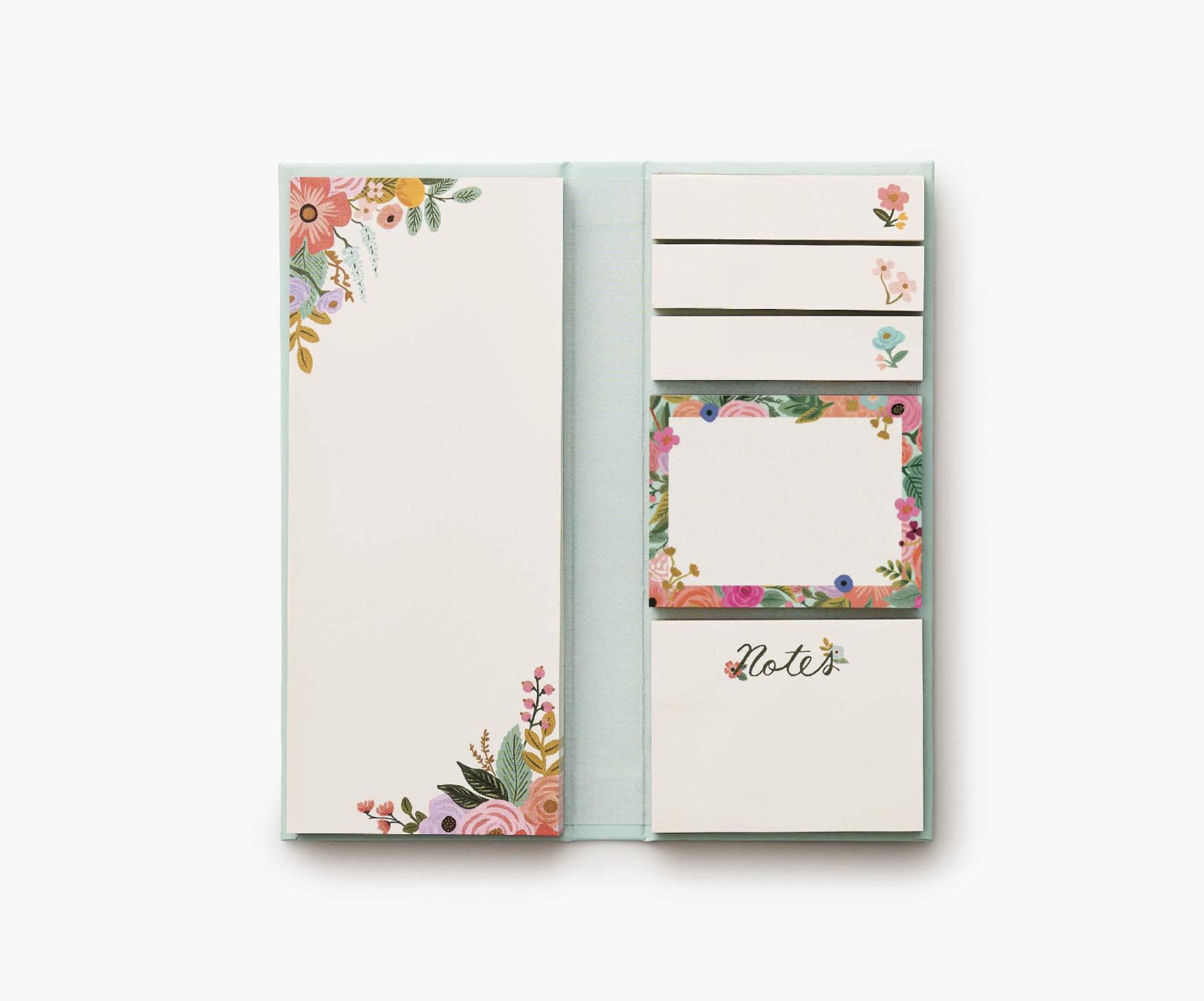 RIFLE - Garden Party Sticky Note Folio