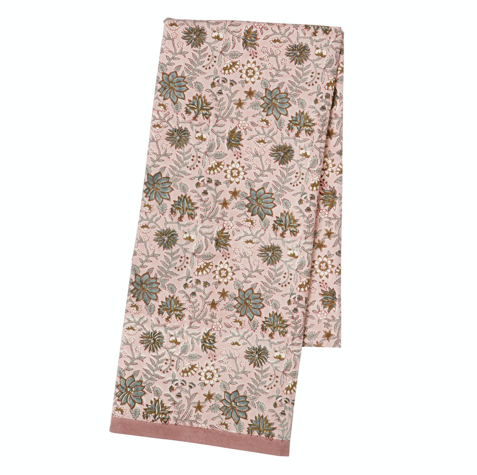 BUNGALOW - Tablecloth 150x250,cm Komati Rose