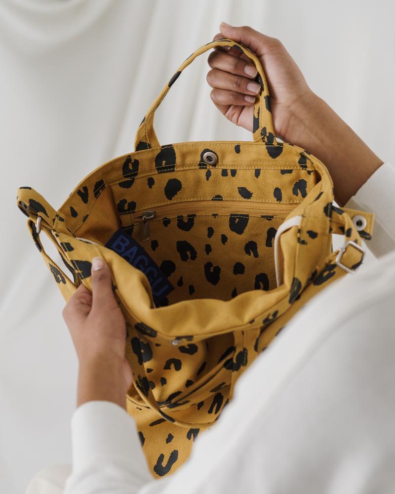 BAGGU - Duck Bag, Leopard