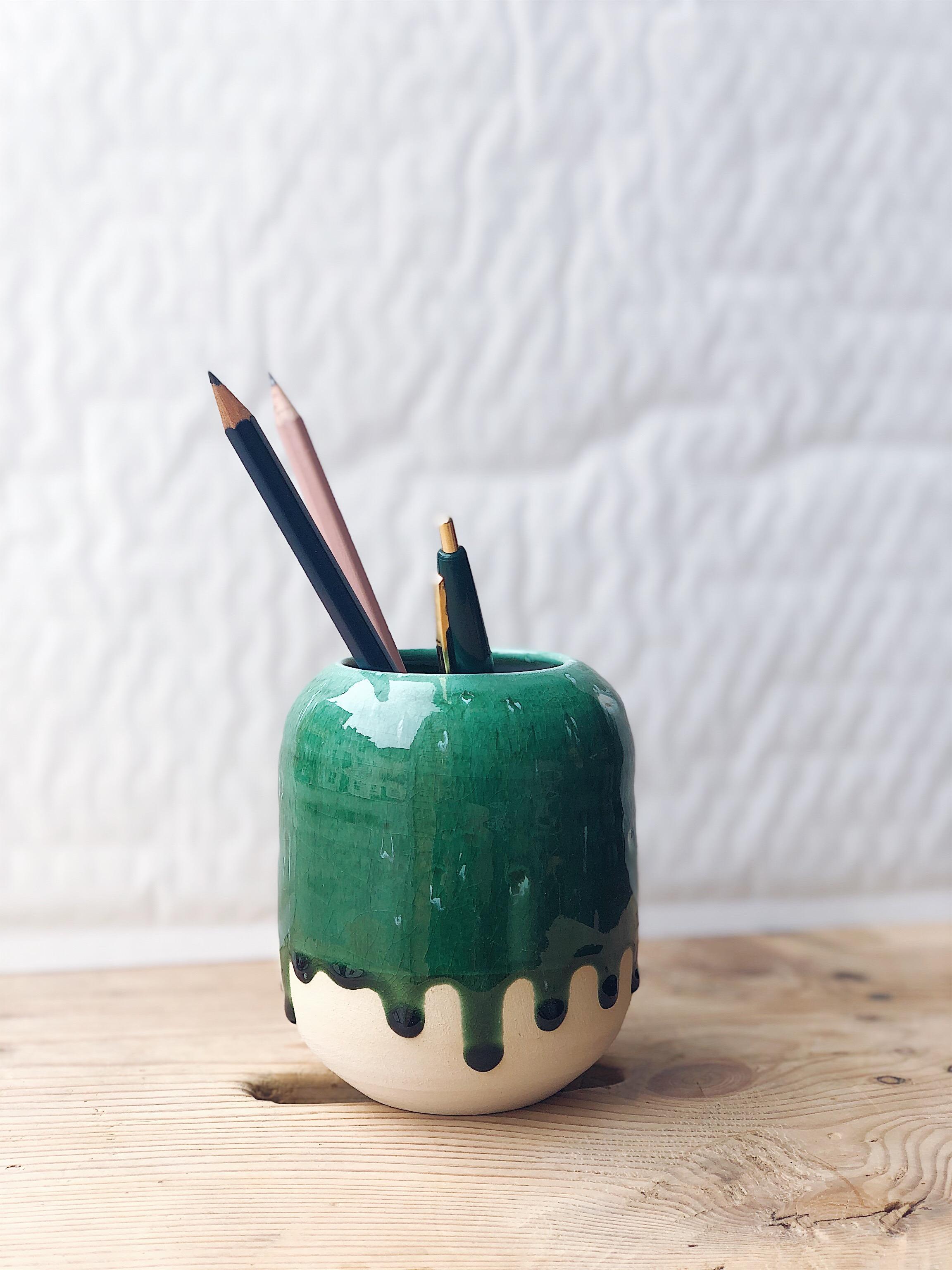 STUDIO ARHØJ - Pen Cup, Herbal Drop