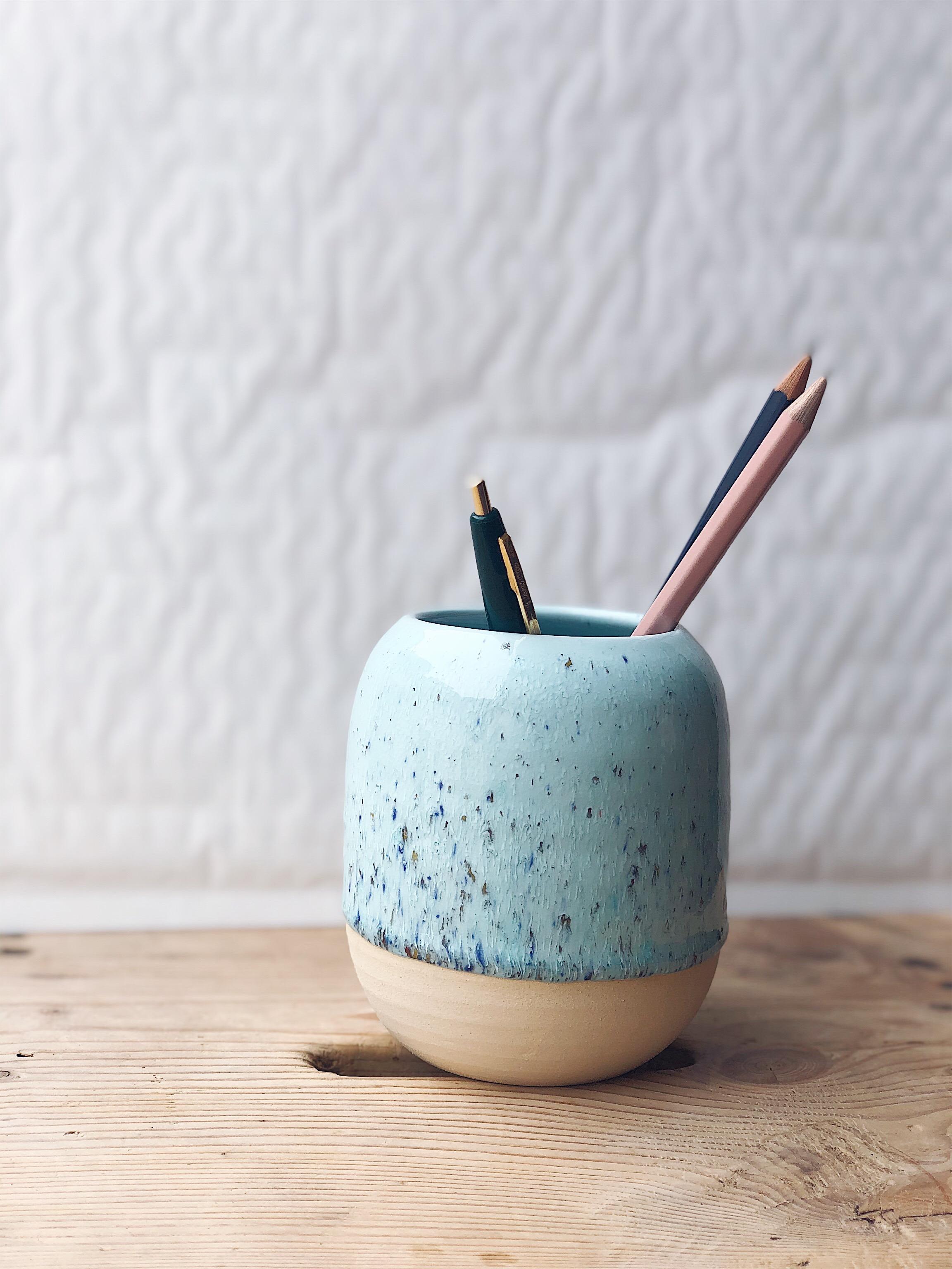 STUDIO ARHØJ - Pen Cup, Crystalline Mint