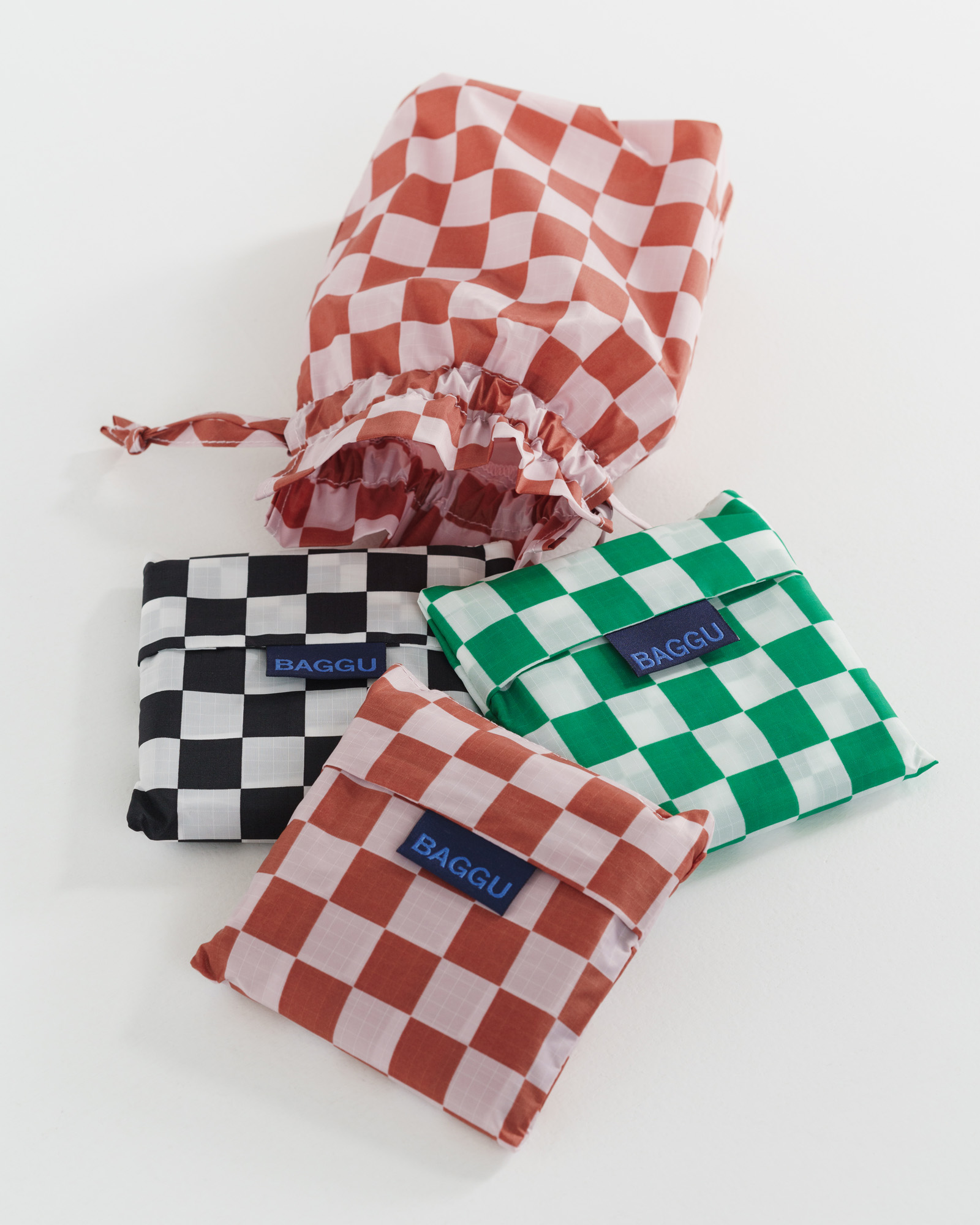 BAGGU - Checkerboard 3-pk