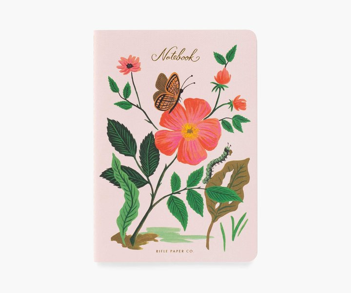RIFLE - Botanical Notebook, Butterfly