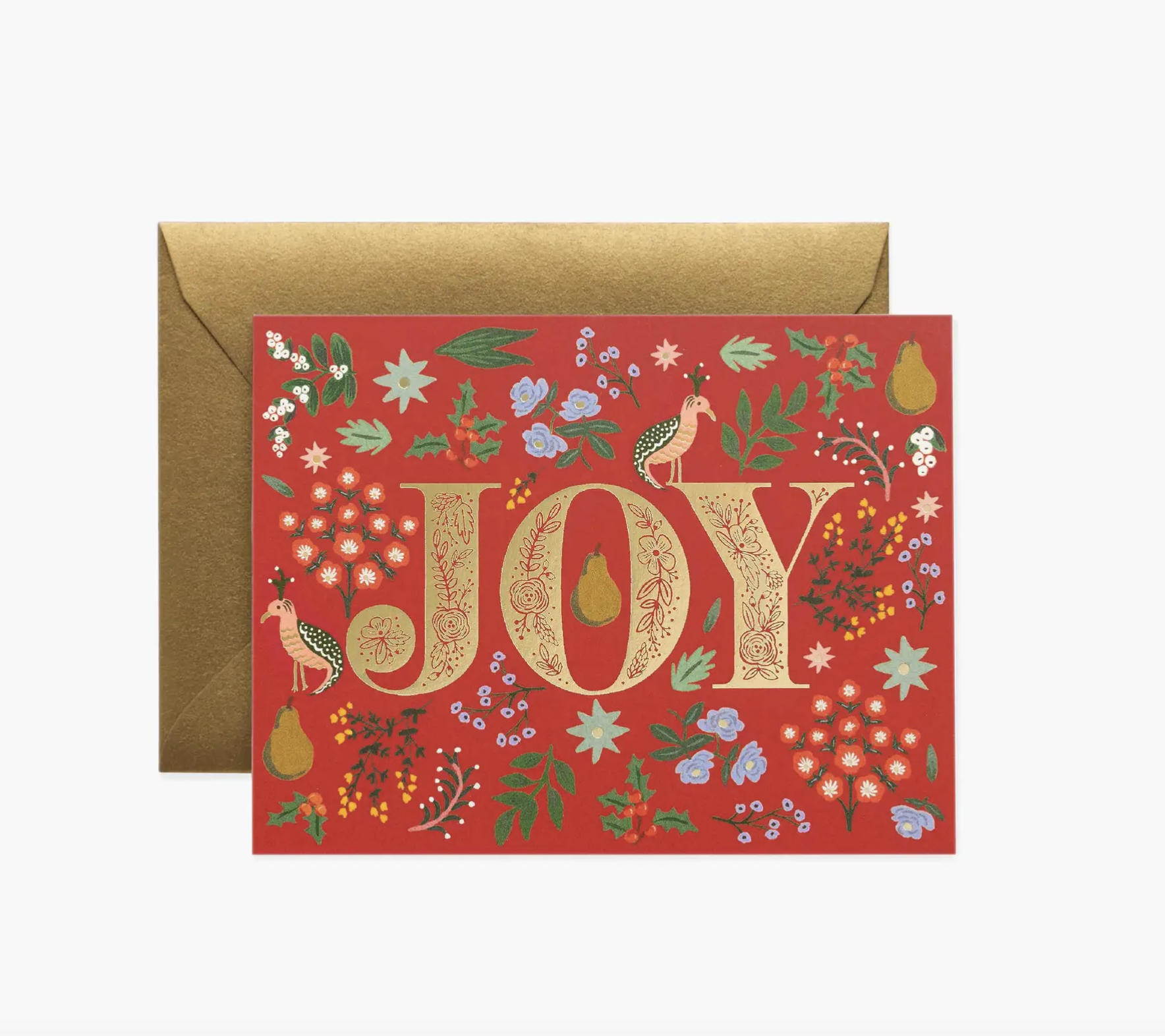 JULEKORT - Partridge card