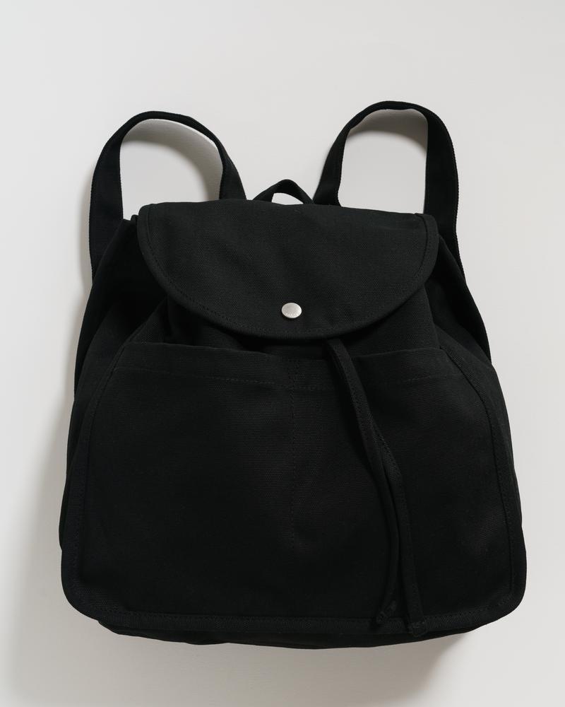BAGGU - Drawstring Backpack, Black
