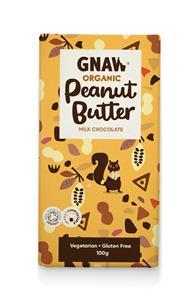 GNAW - Organic Milk Chocolate Peanut Butter