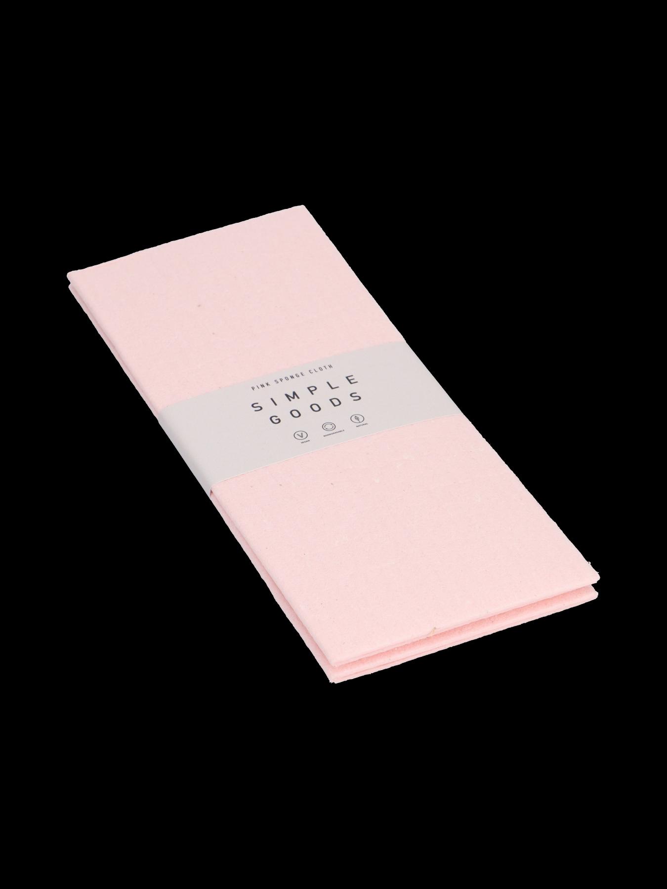 Simple Goods - Sponge Cloth, Pink