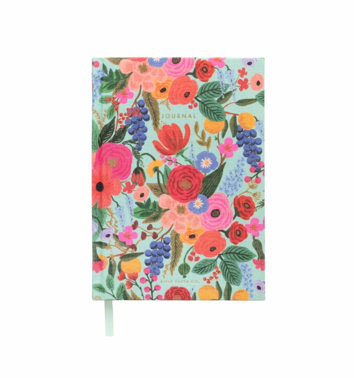 RIFLE - Garden party fabric journal
