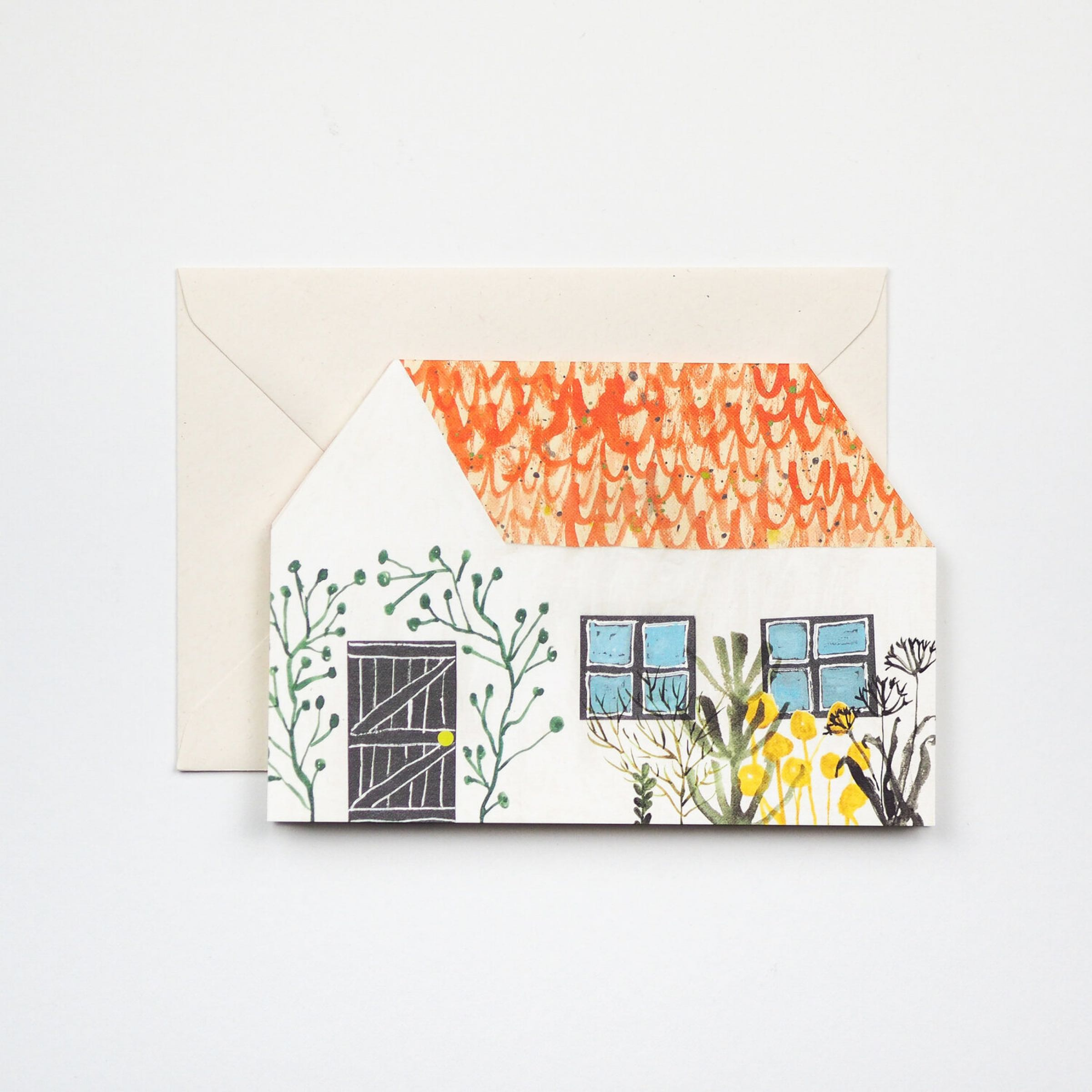 Cottage card by Hadley Paper Goods