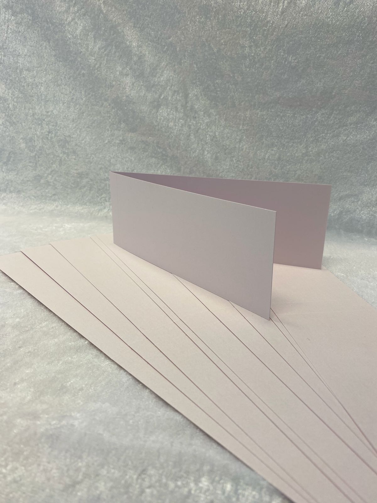Slimcard base shimmer lys rosa. TILBUD: 10 stk. kun kr 25,-