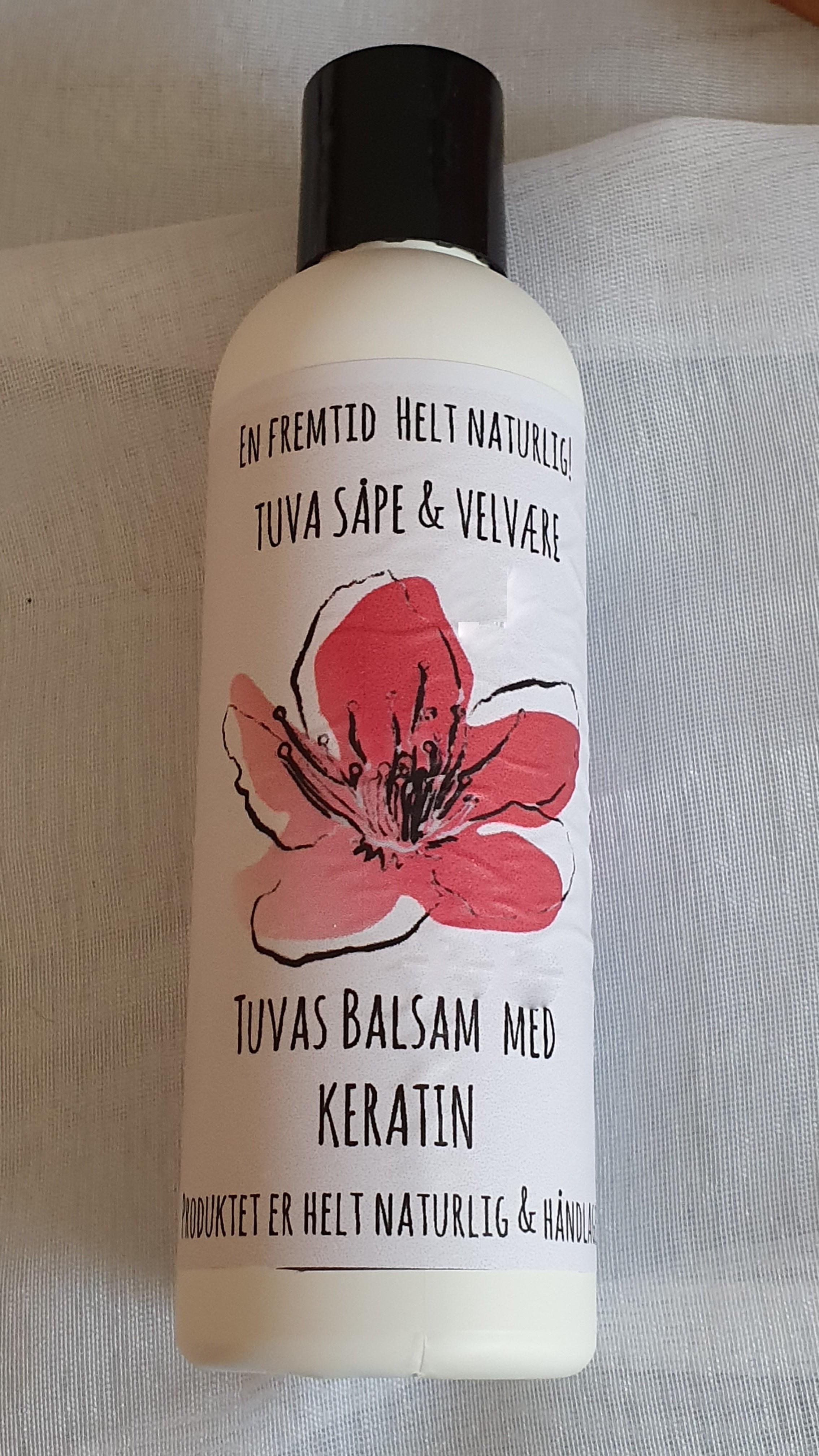 Tuvas Balsam/hårkur Hibiscus & Rabarbra
