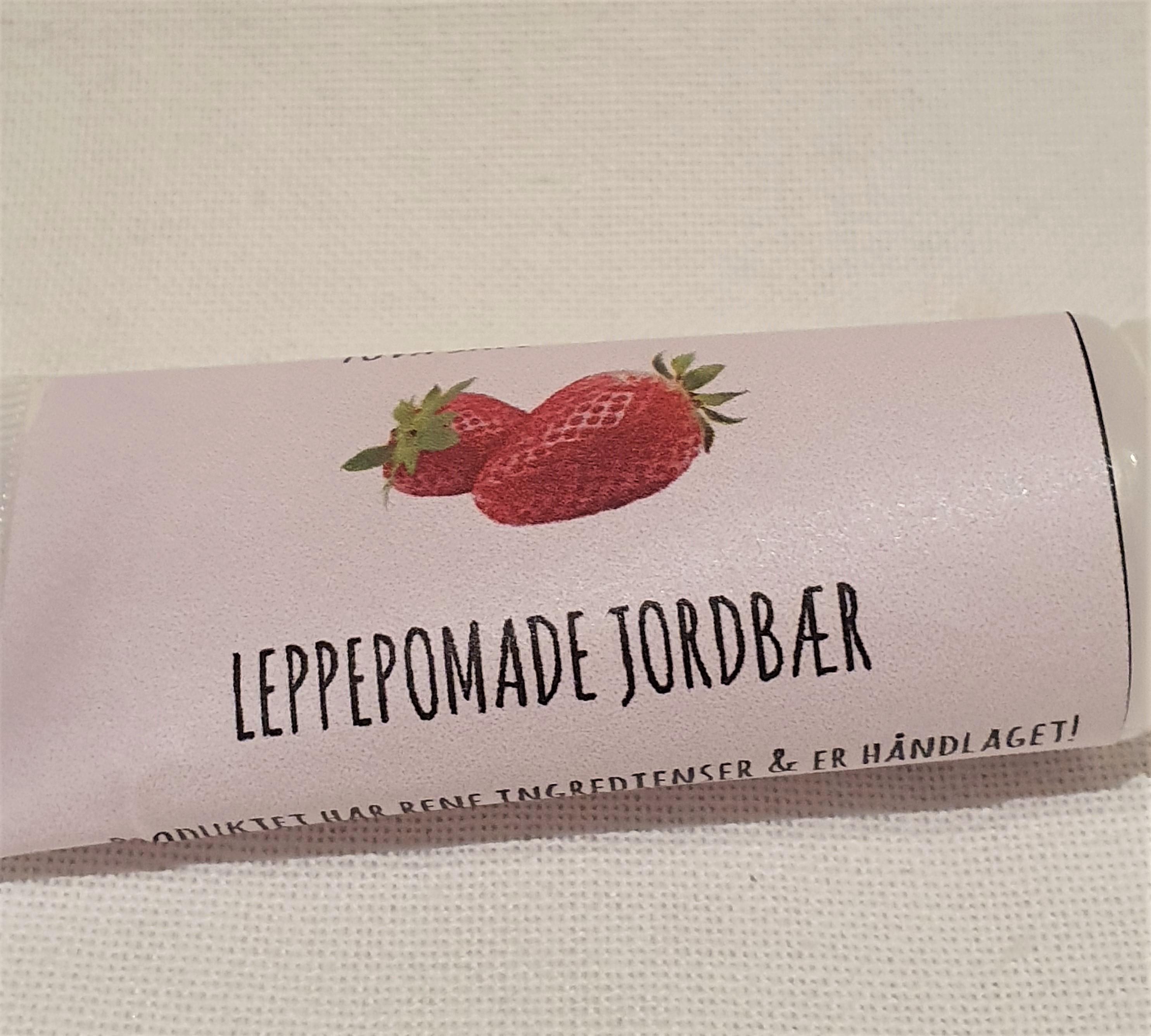 Leppepomade JORDBÆR