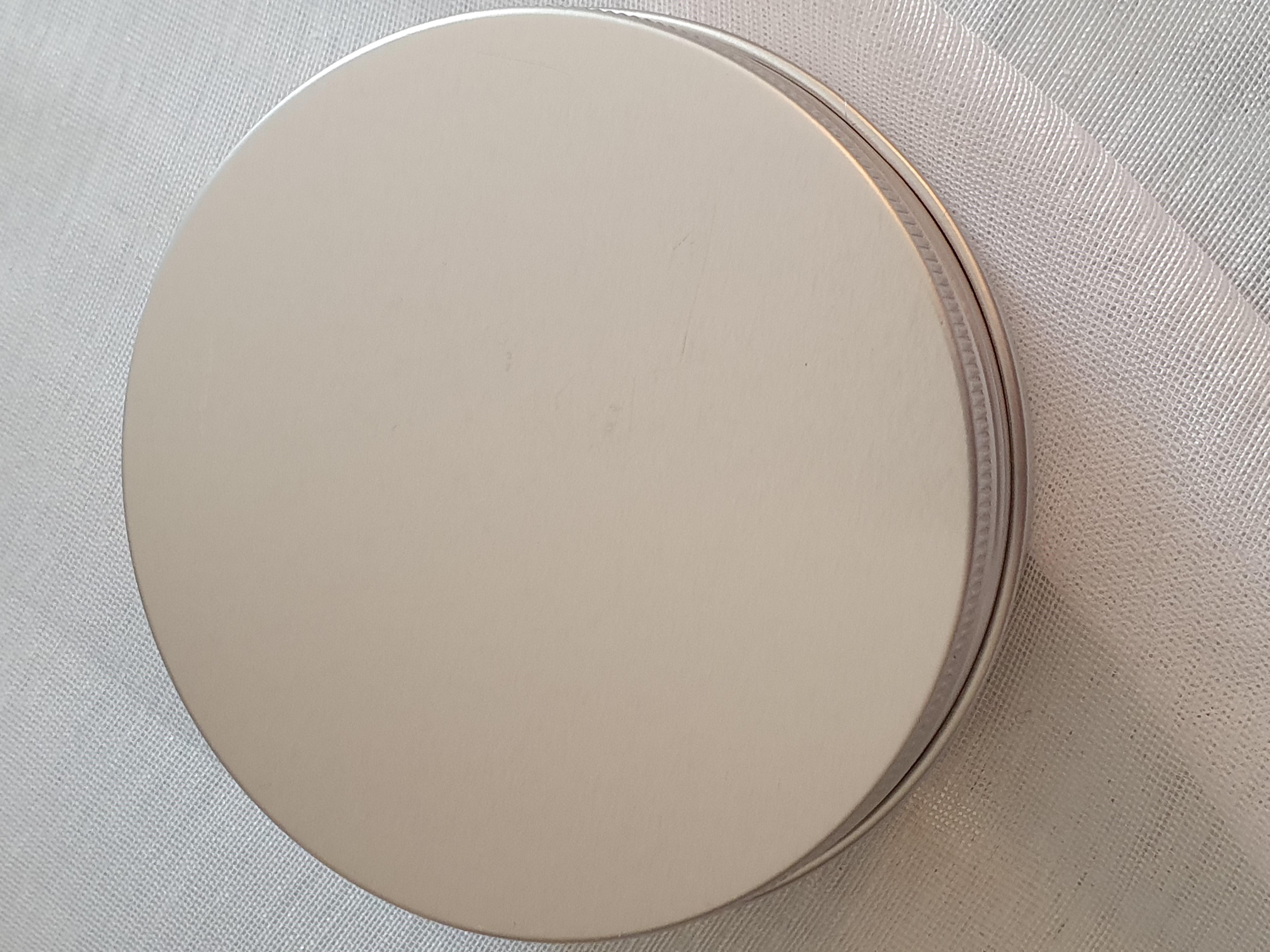 Aluminiumsboks til sjampoo bar 100 gr