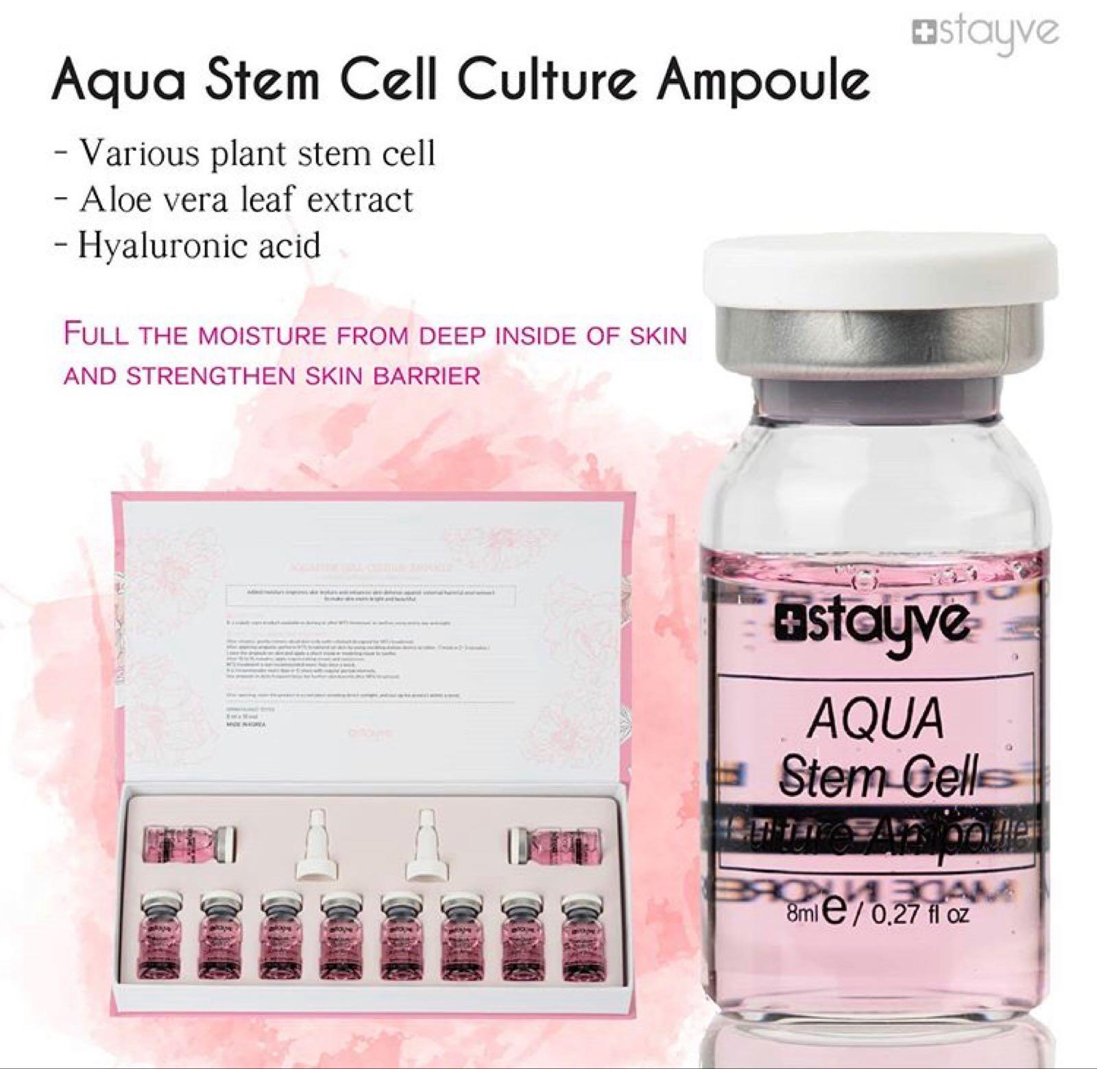 Aqua Stem Cell Ampull STYCKVIS