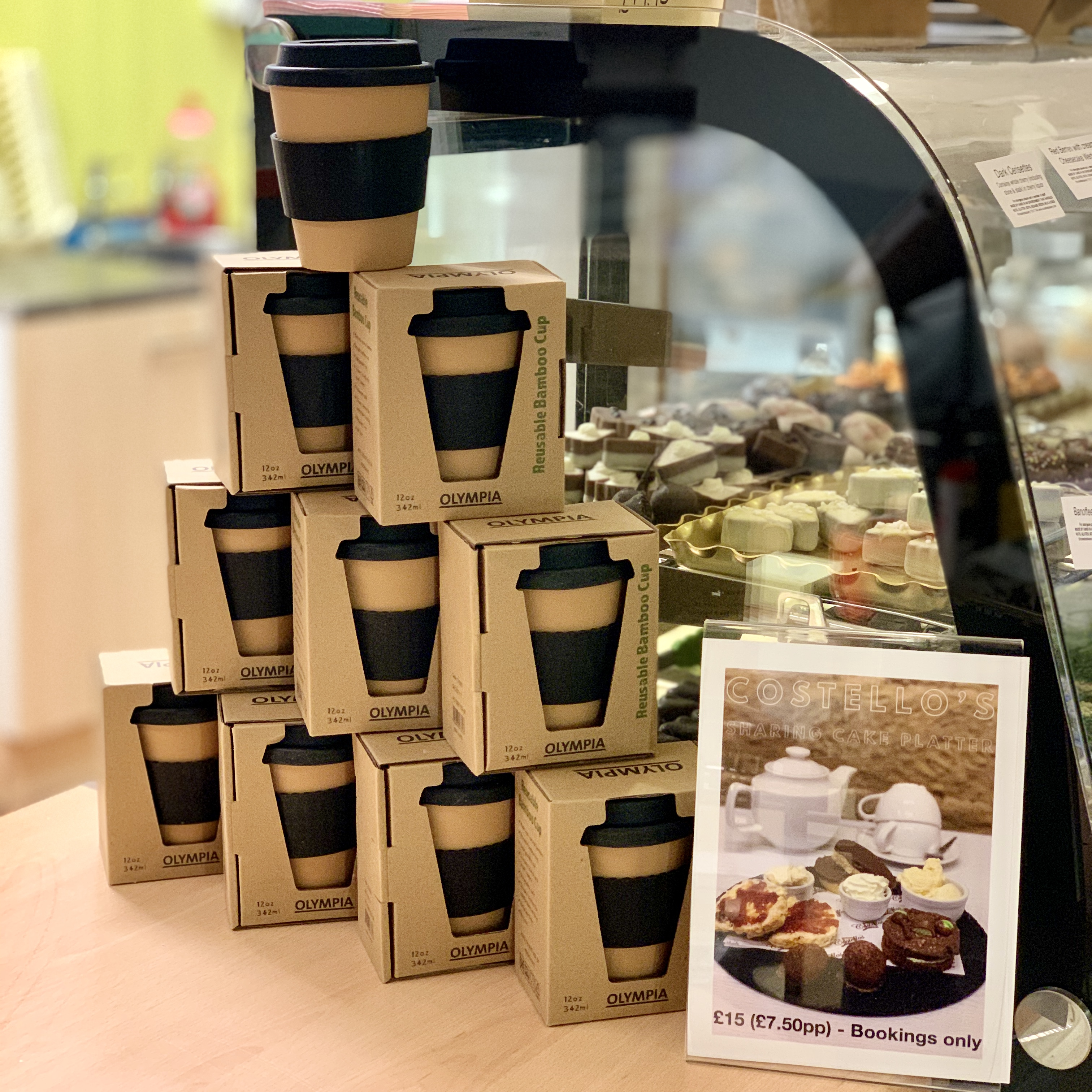 Reusable Coffee Cup 12/16oz