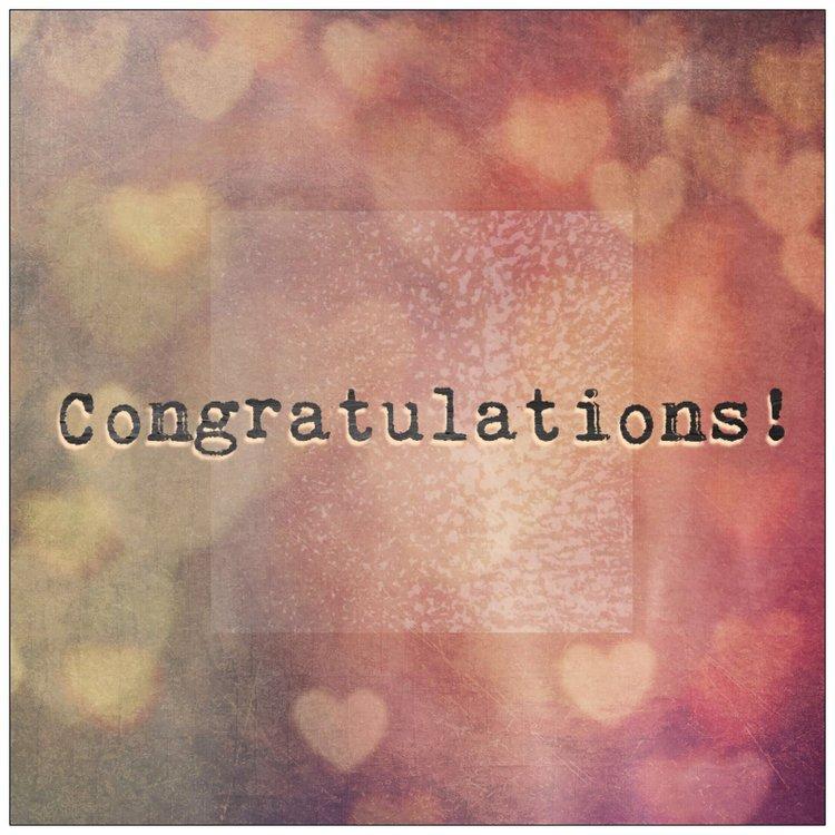Cards - Congratulations 2