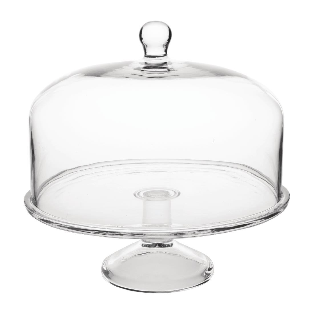 Glass Cake Stand Base