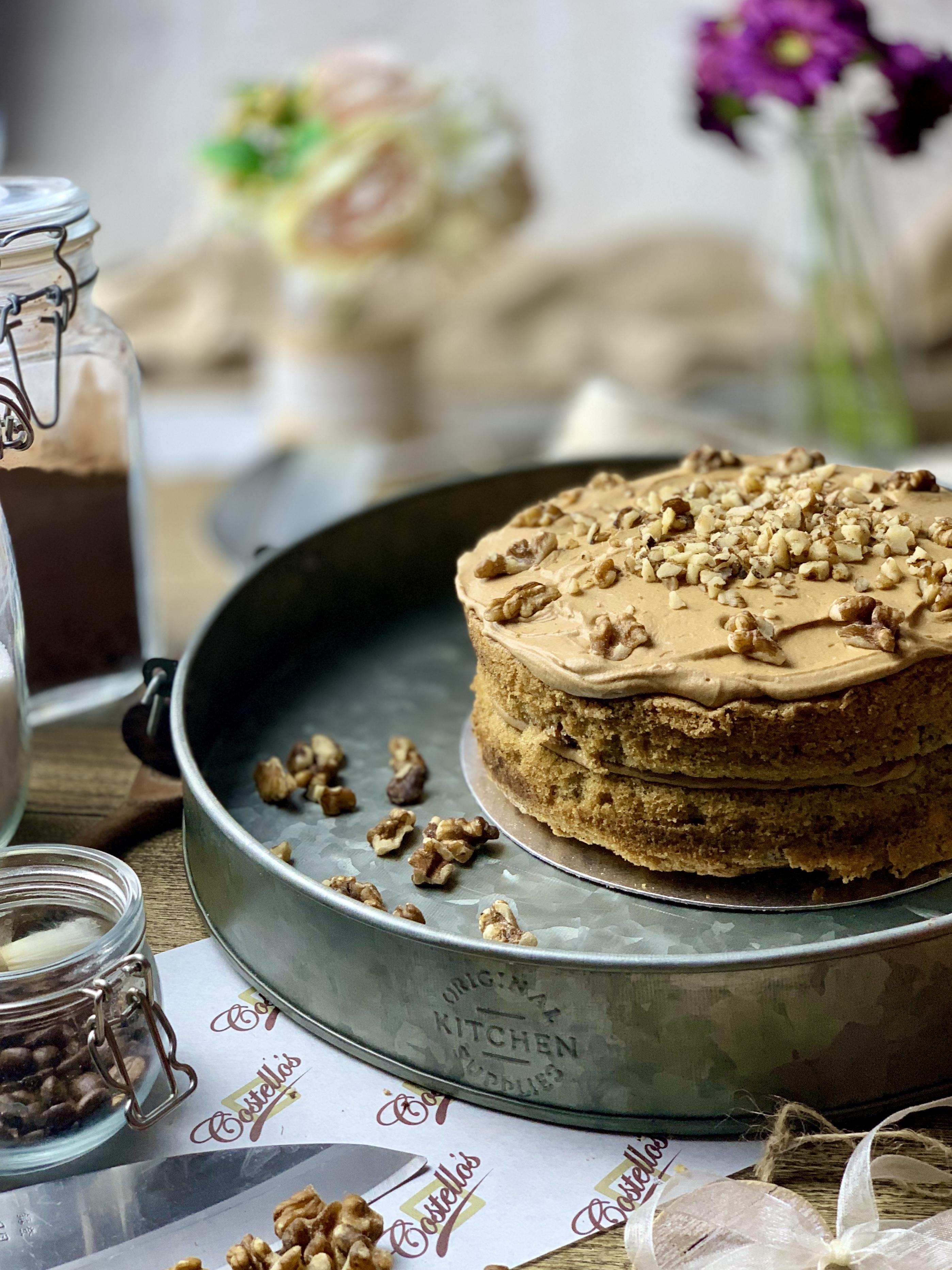 Cakes - Coffee & Walnut