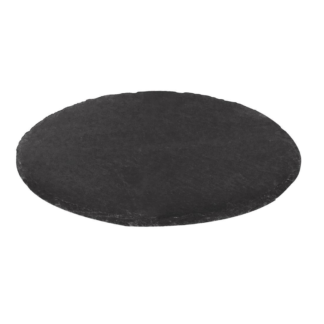 Slate Round Cake Board