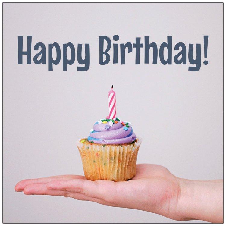 Cards - Birthday Cupcake