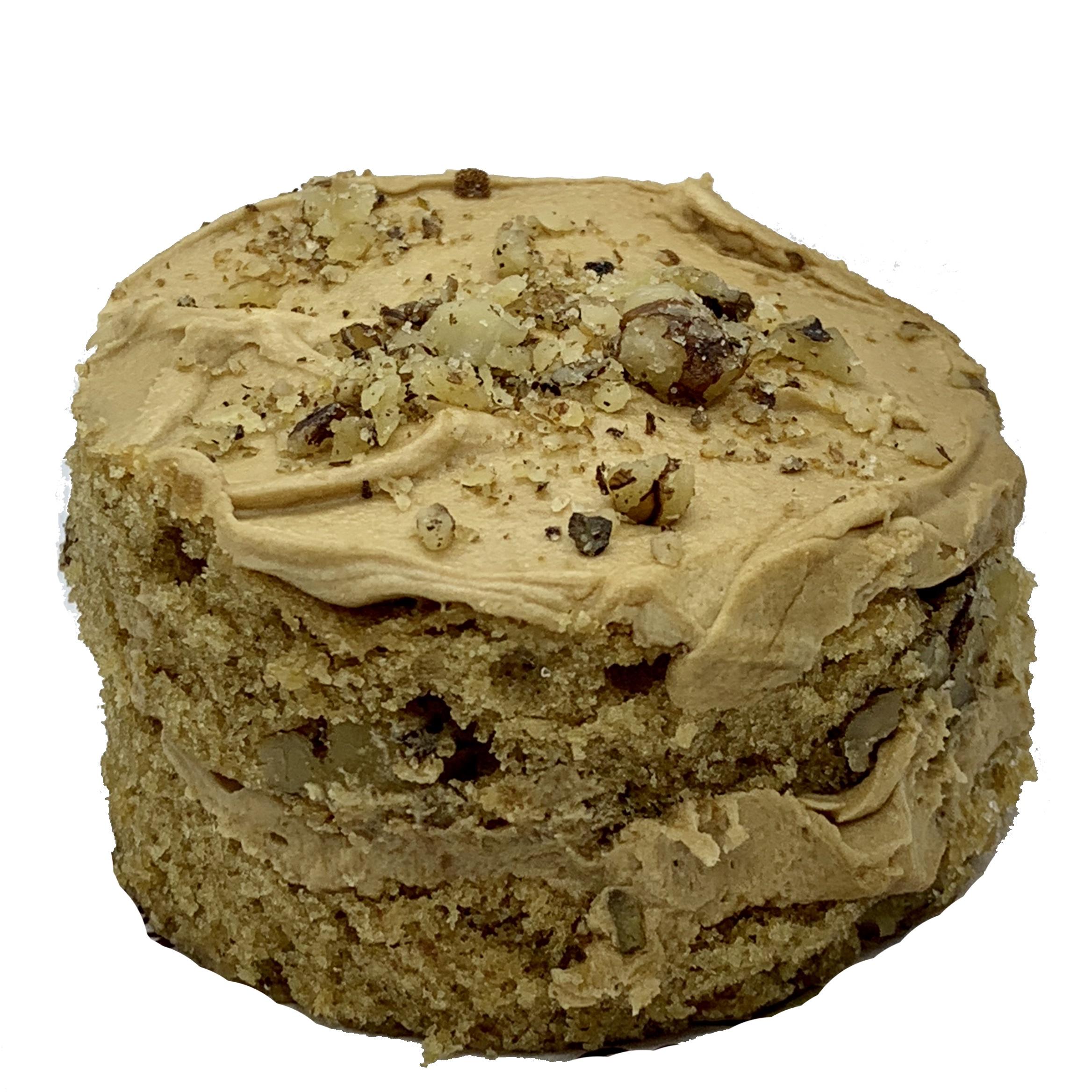 Mini Coffee & Walnut Cake