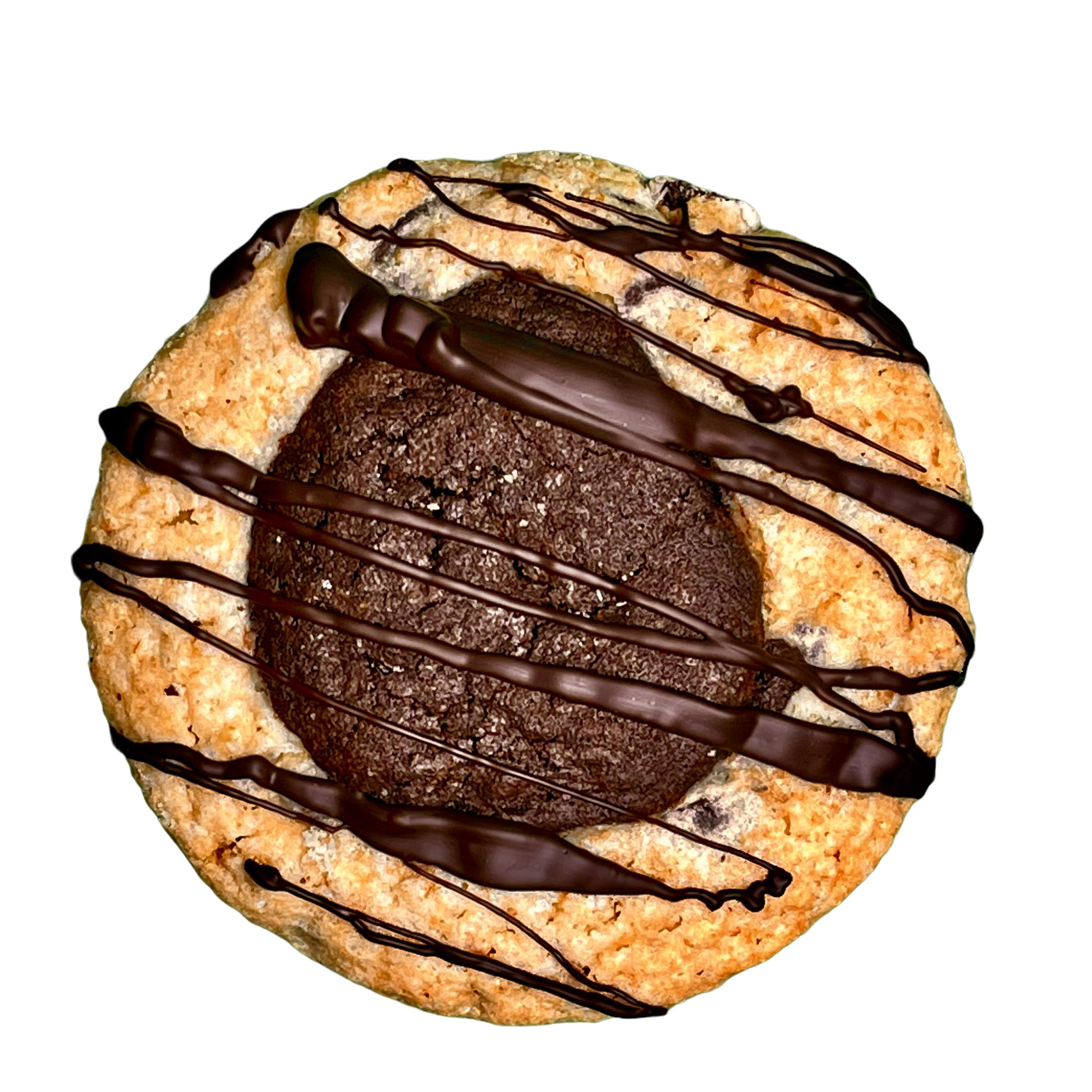 Cookie Cup - Brookie (Brownie/Cookie Combo)