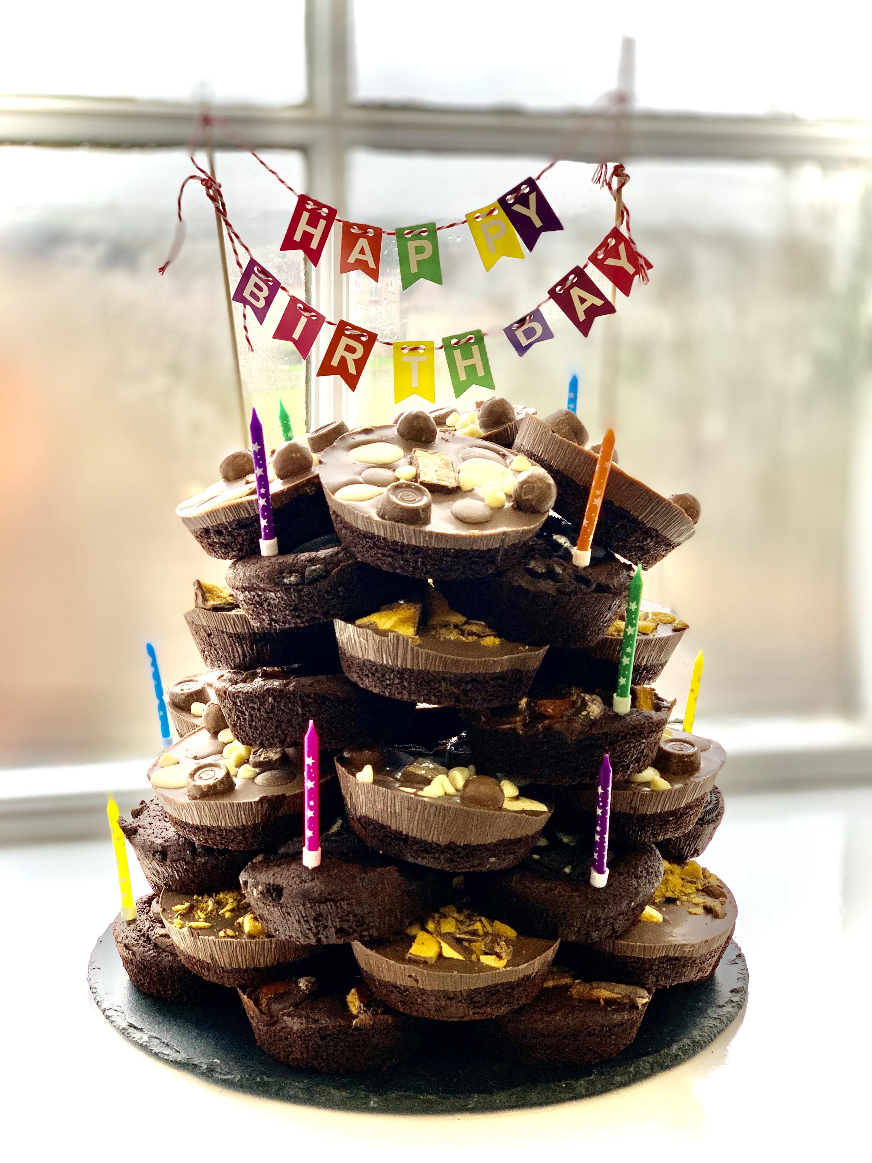 Celebration Brownie Stack