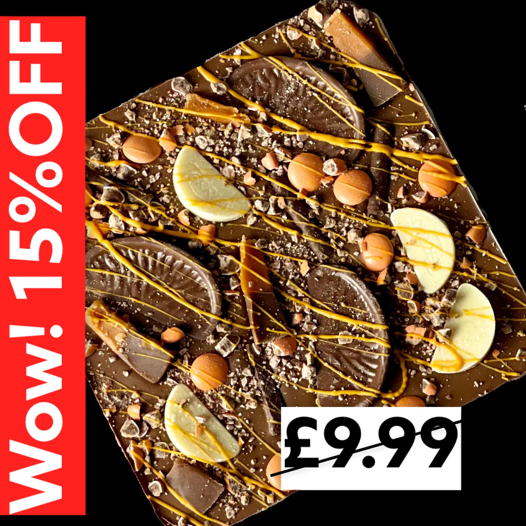 Chocolate Slab - Chocolate Orange