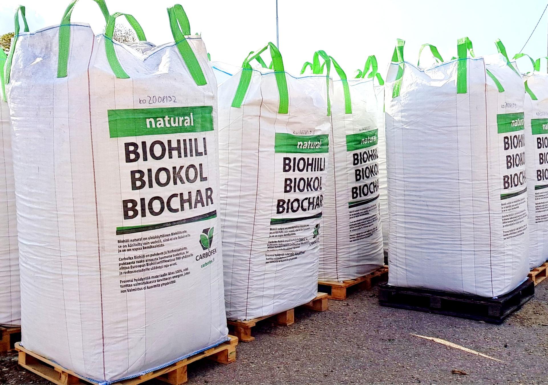 Biohiili natural 1.75 m3 suursäkki