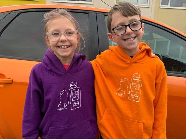 Kids hoodie - designed by kids for kids!