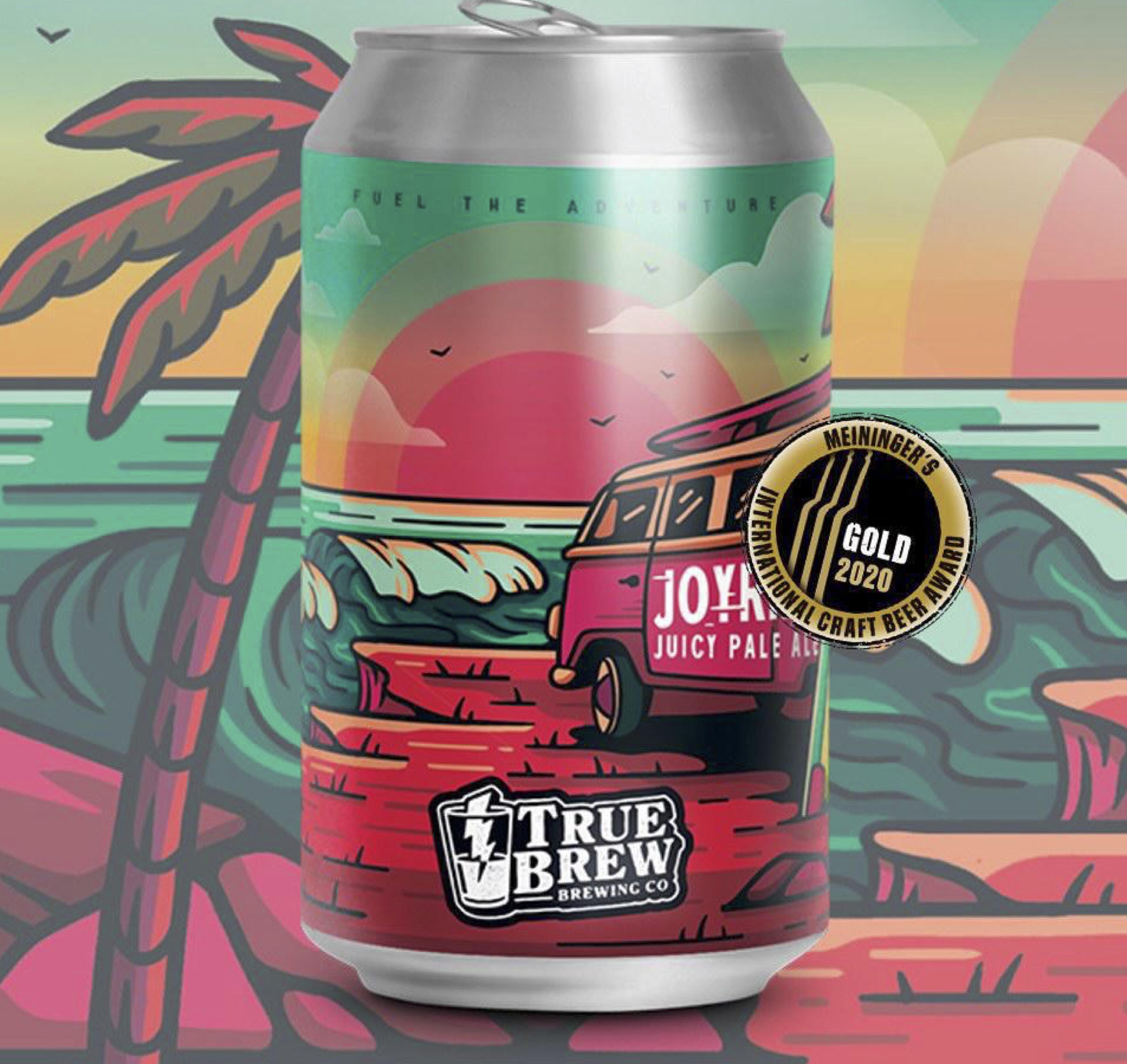 True Brew - Joyride Juicy Pale Ale 5.2% 330 can