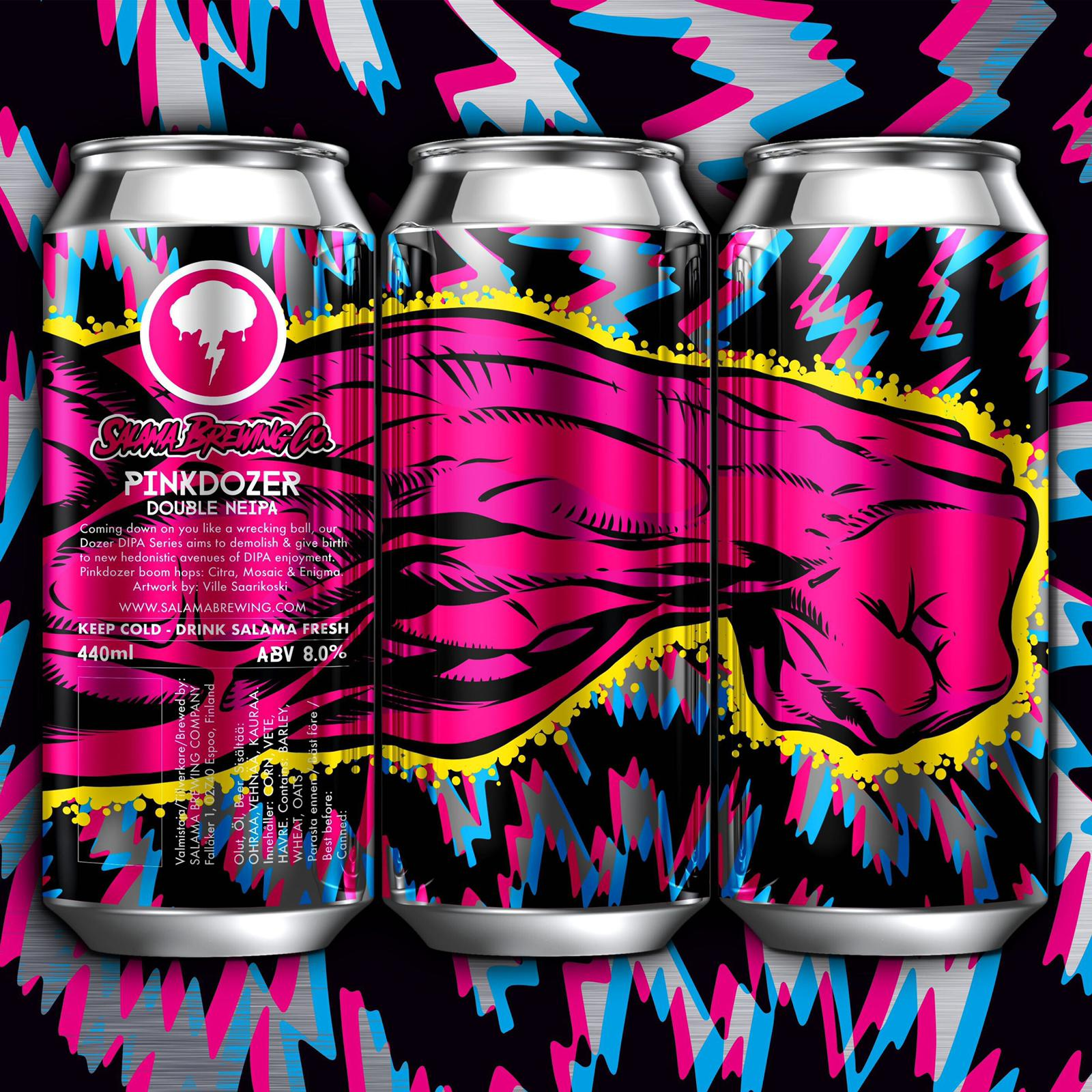 Pinkdozer Double NEIPA 8% 440 can