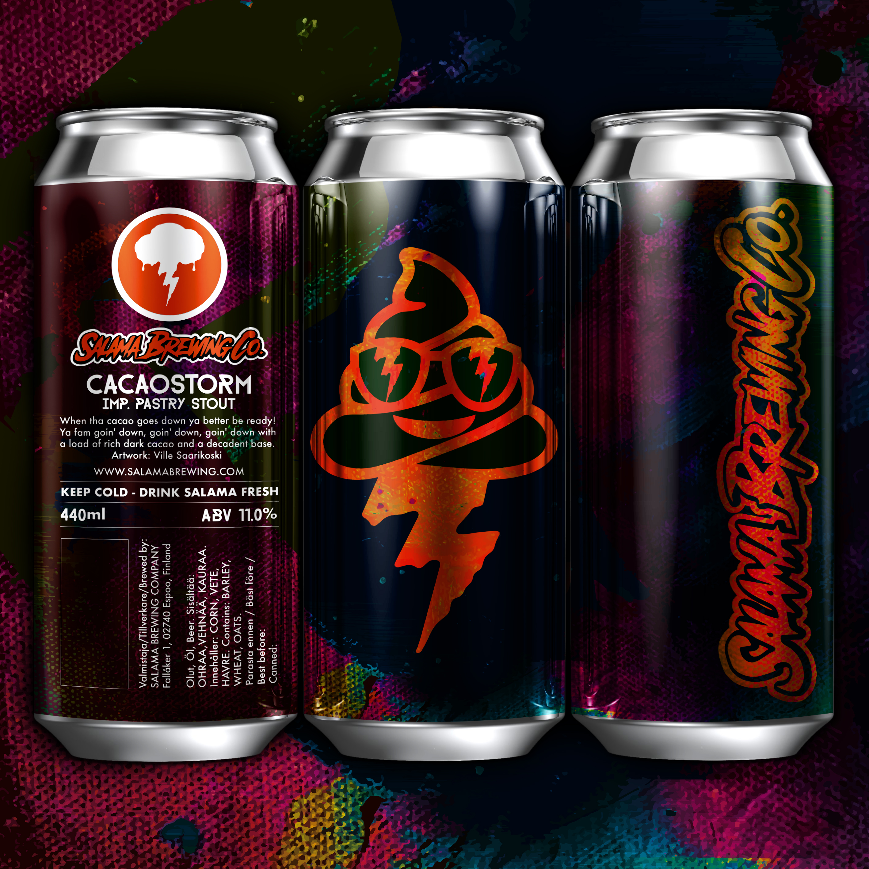 Cacaostorm Imp. Pastry Stout 11% Can 440