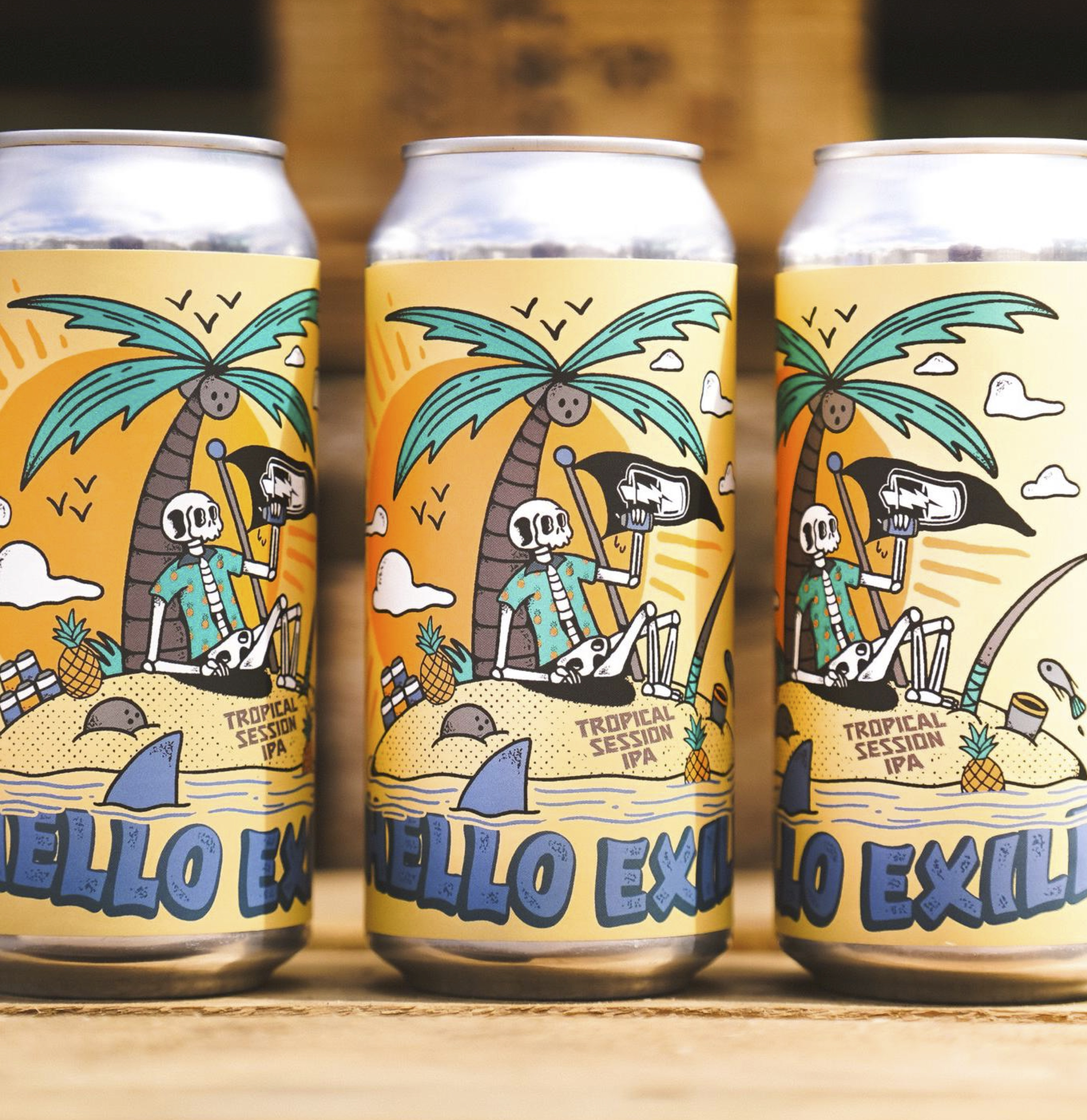True Brew - Hello Exile Session IPA 4.5% 440 can
