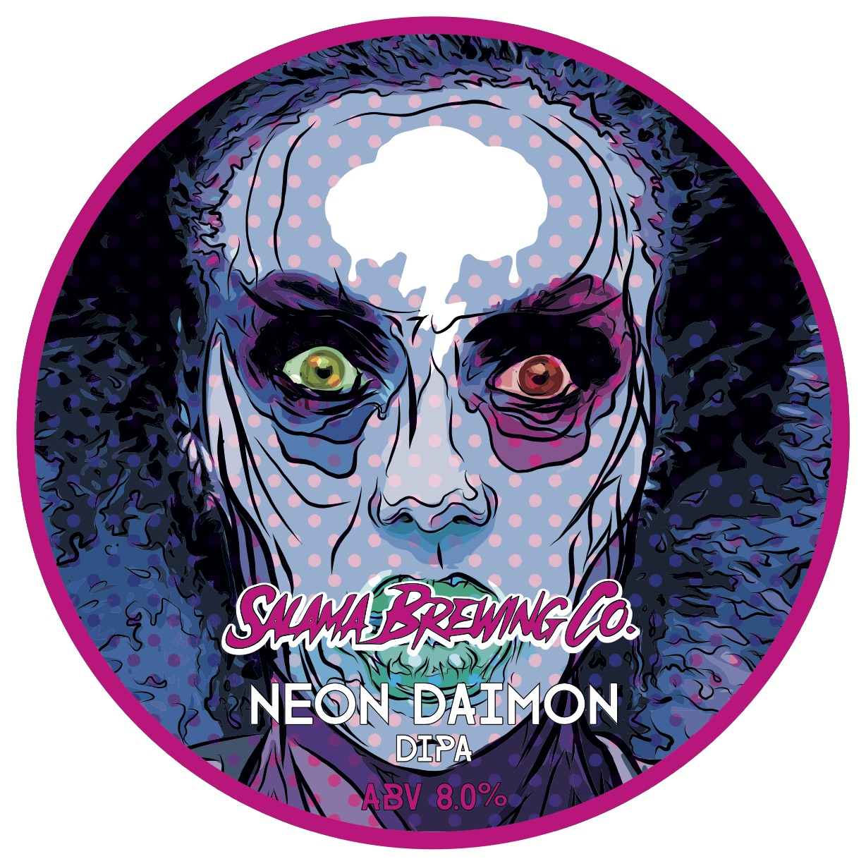 Neon Daimon Hazy DIPA 8,0% 440 can