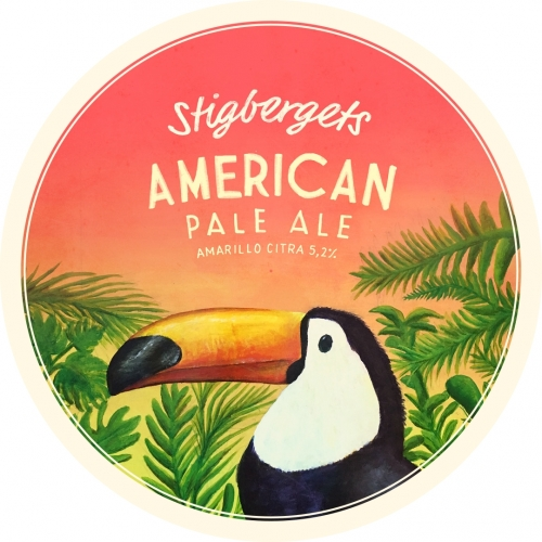 Stigbergets - Amarillo Citra Pale Ale 5.2% 330 can