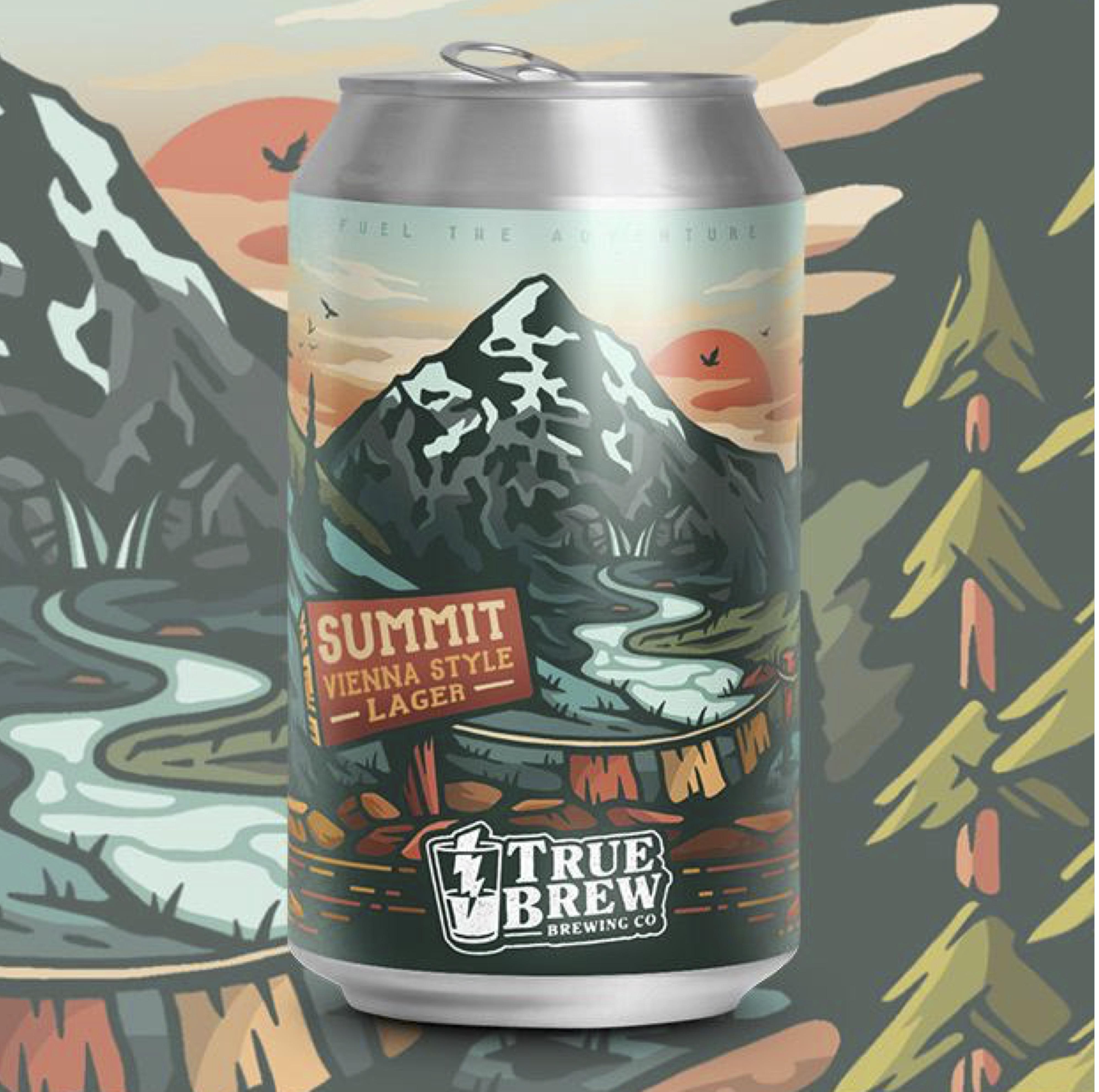 True Brew - Summit Vienna Style Lager 5.1% 330 can